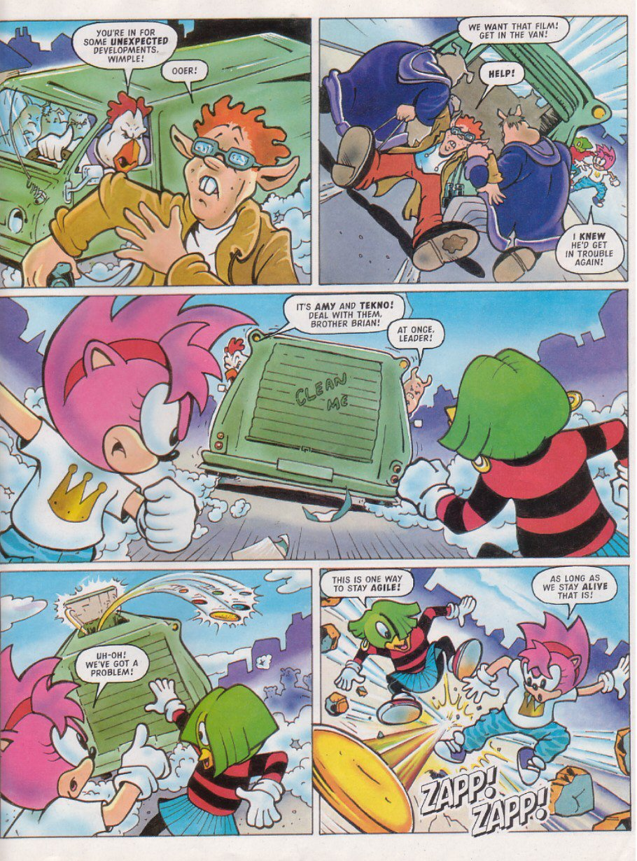 Read online Sonic the Comic comic -  Issue #117 - 18