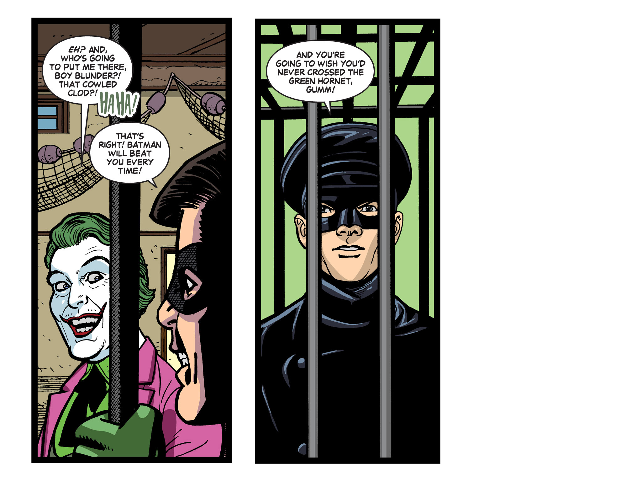 Read online Batman '66 Meets the Green Hornet [II] comic -  Issue #5 - 87
