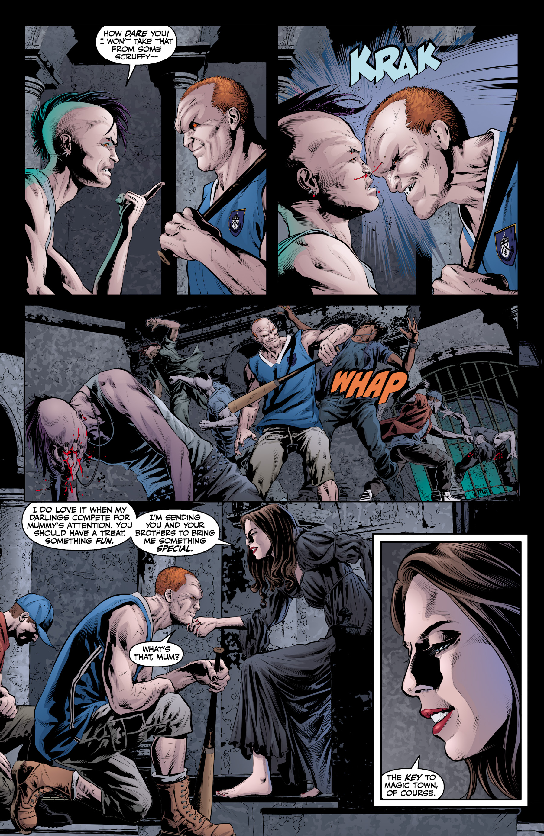 Read online Angel & Faith Season 10 comic -  Issue #19 - 13