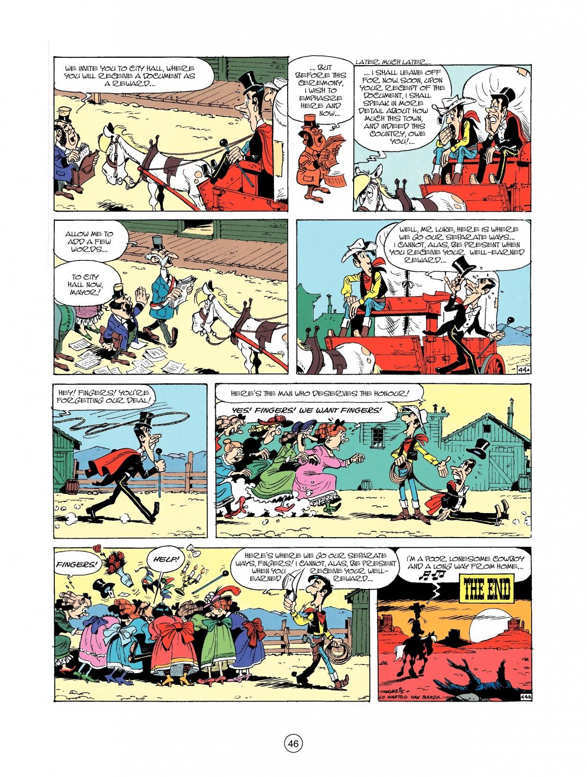 Read online A Lucky Luke Adventure comic -  Issue #37 - 46