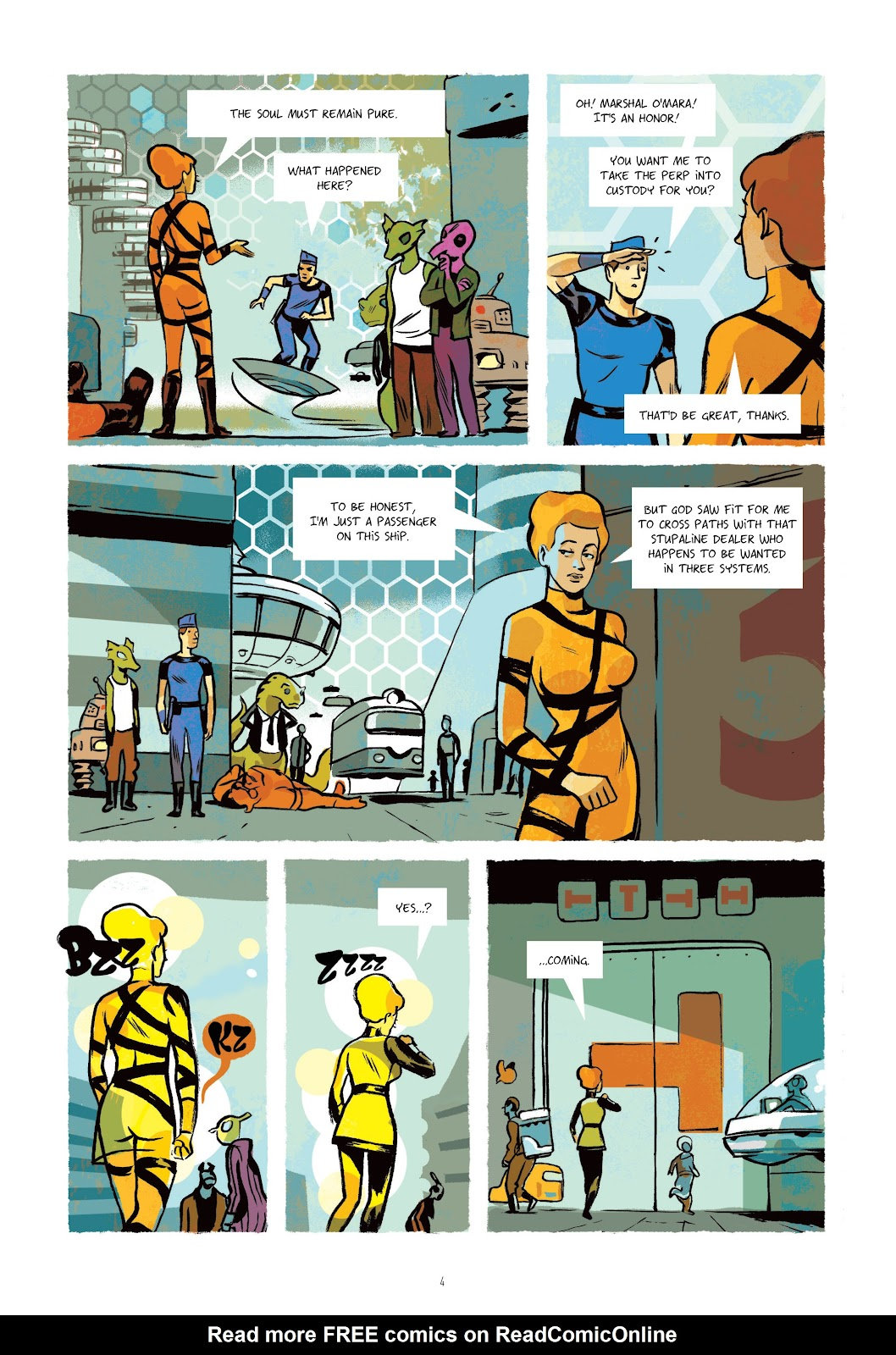 Read online Infinity 8 comic -  Issue # _TPB 3 - 6