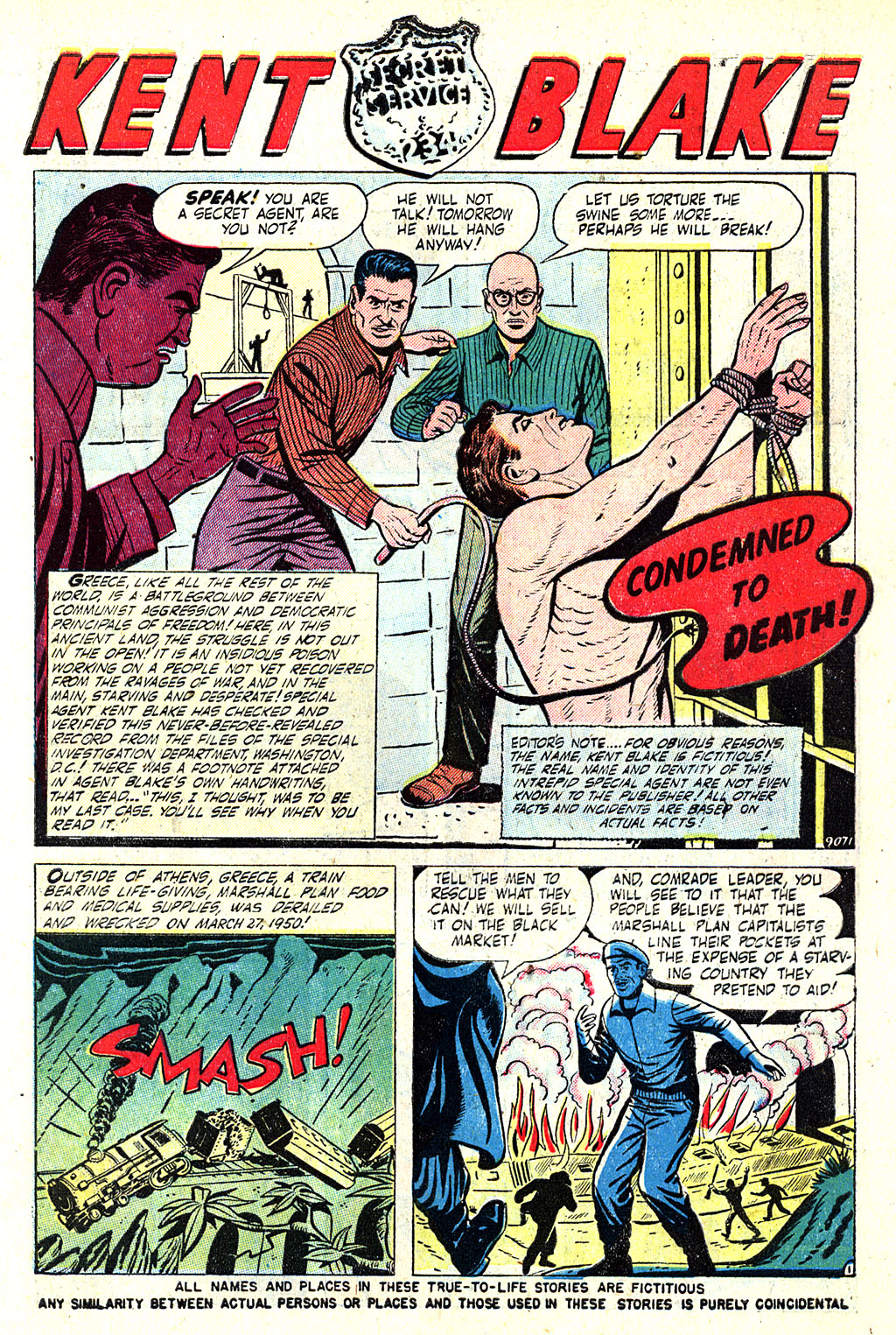 Kent Blake of the Secret Service issue 5 - Page 3