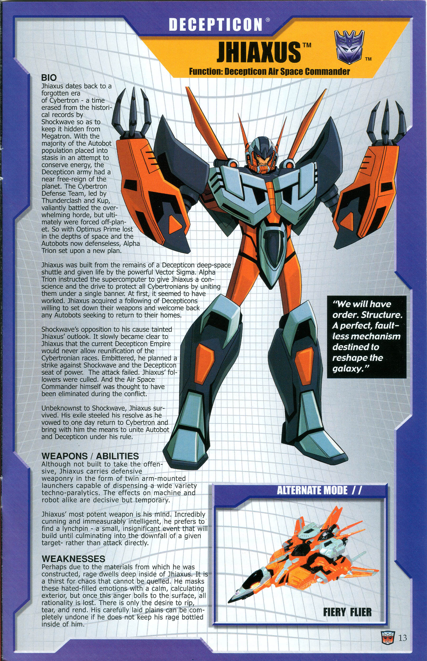 Read online Transformers: Collectors' Club comic -  Issue #44 - 13