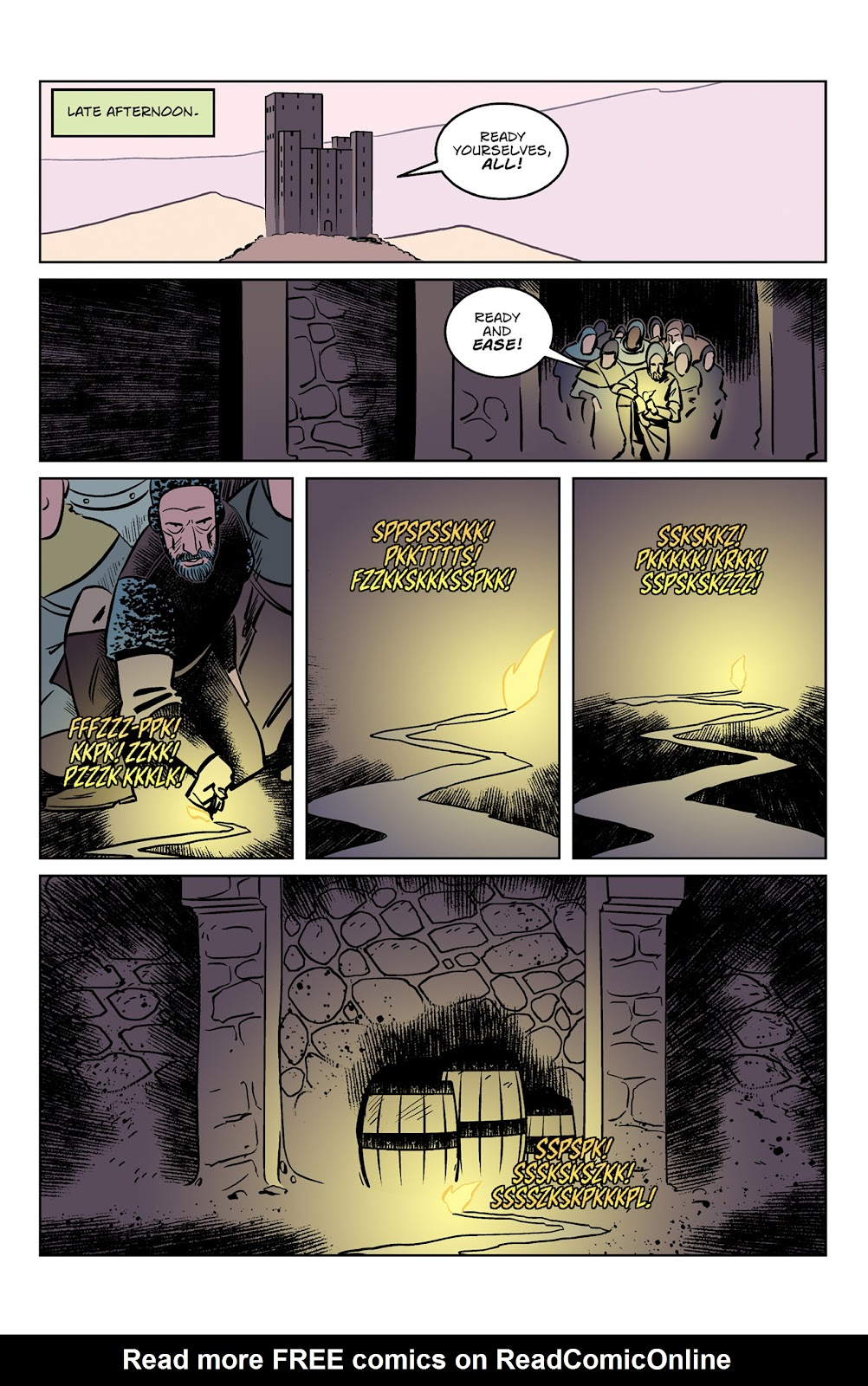 Read online Dark Ages comic -  Issue #3 - 3