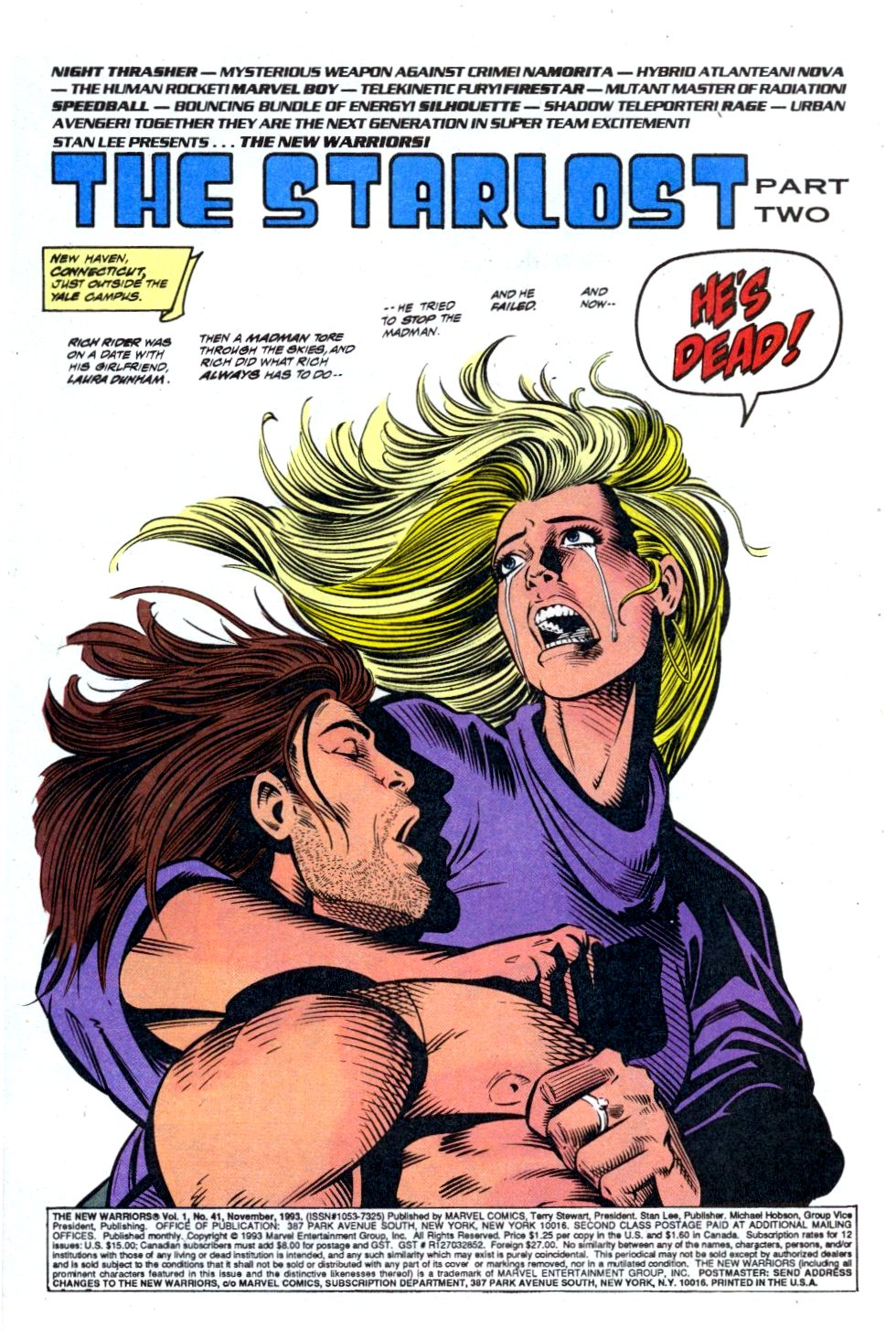 The New Warriors Issue #41 #45 - English 2