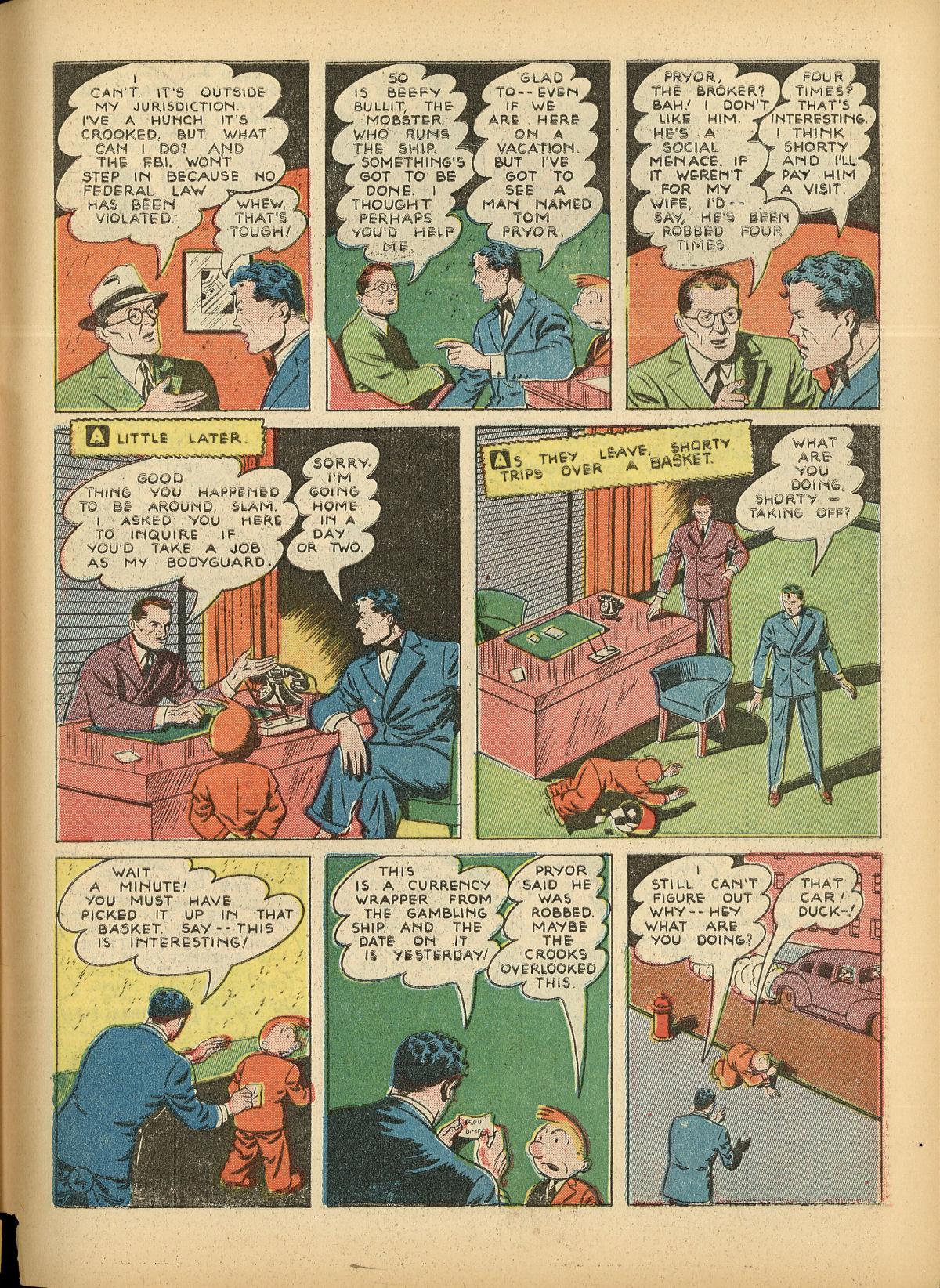 Read online Detective Comics (1937) comic -  Issue #55 - 61