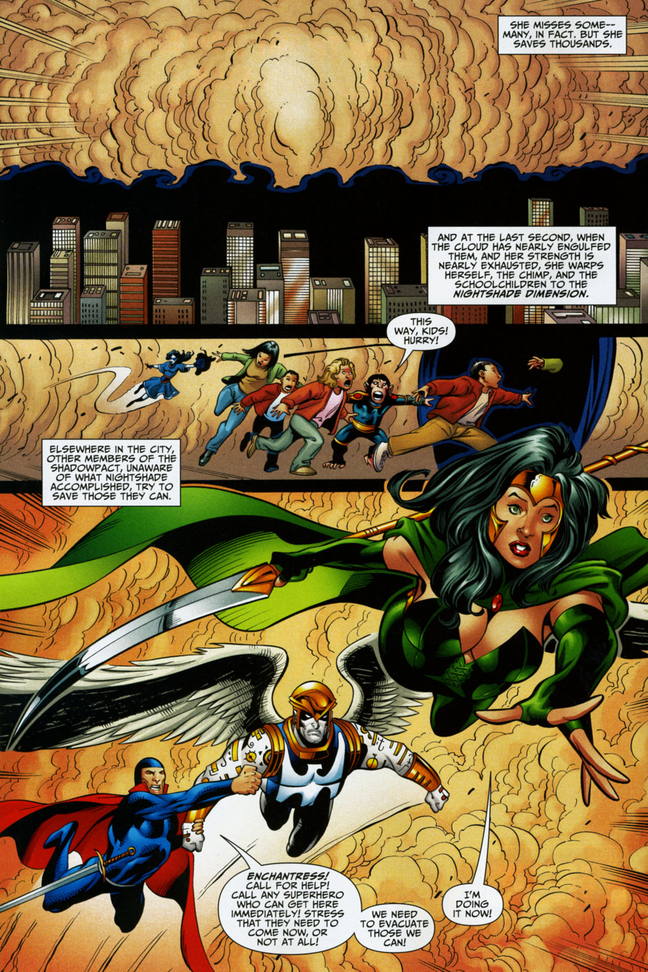Read online Shadowpact comic -  Issue #16 - 9