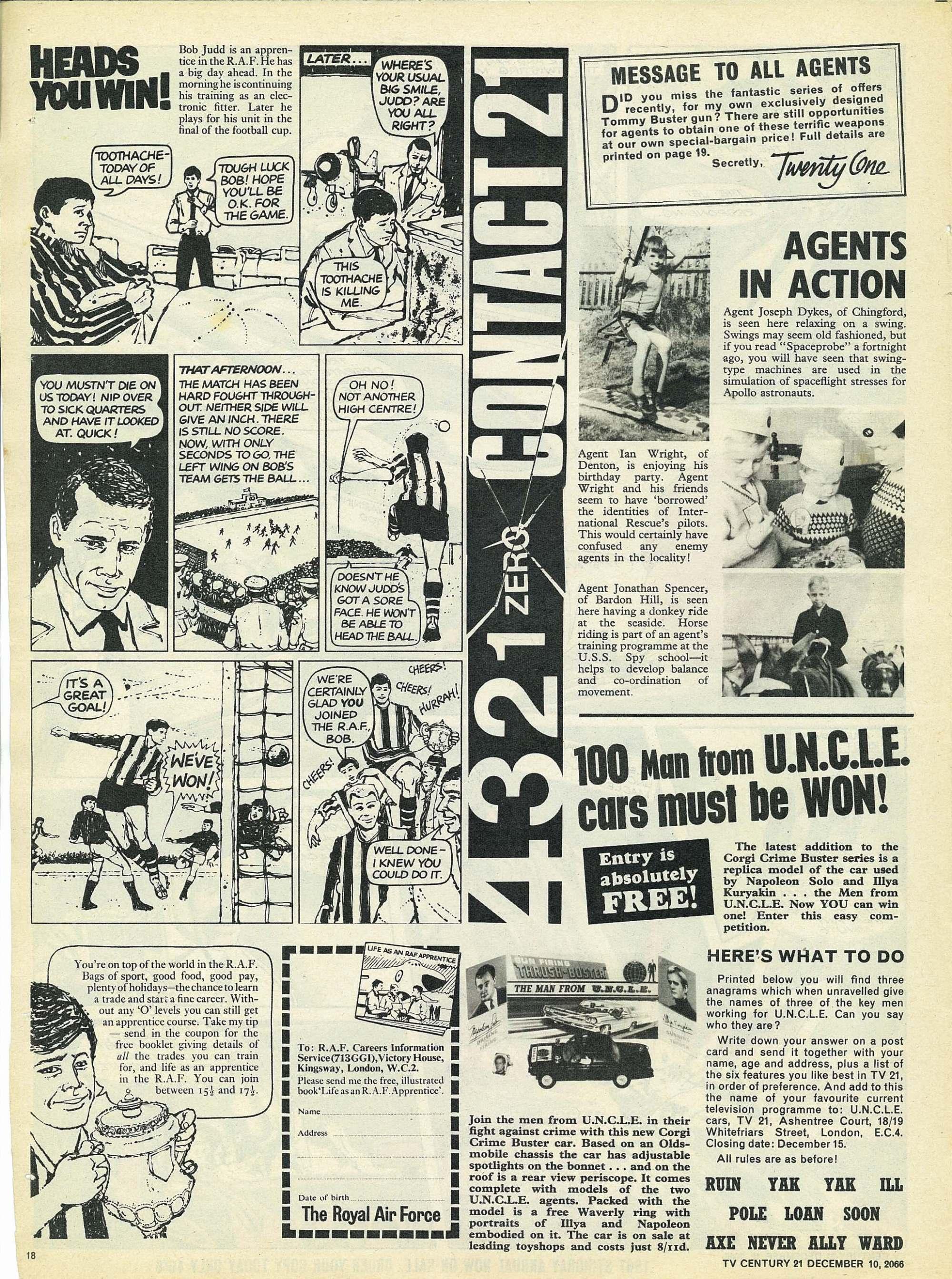 Read online TV Century 21 (TV 21) comic -  Issue #99 - 17