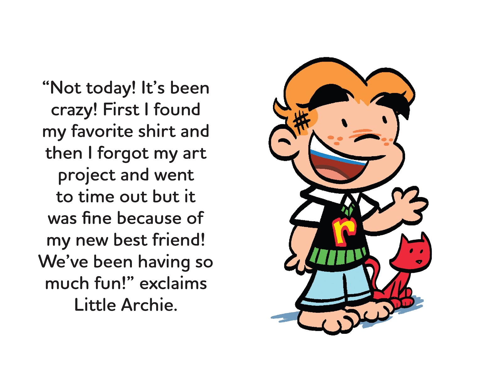Read online Little Archie's Lucky Day comic -  Issue # Full - 23