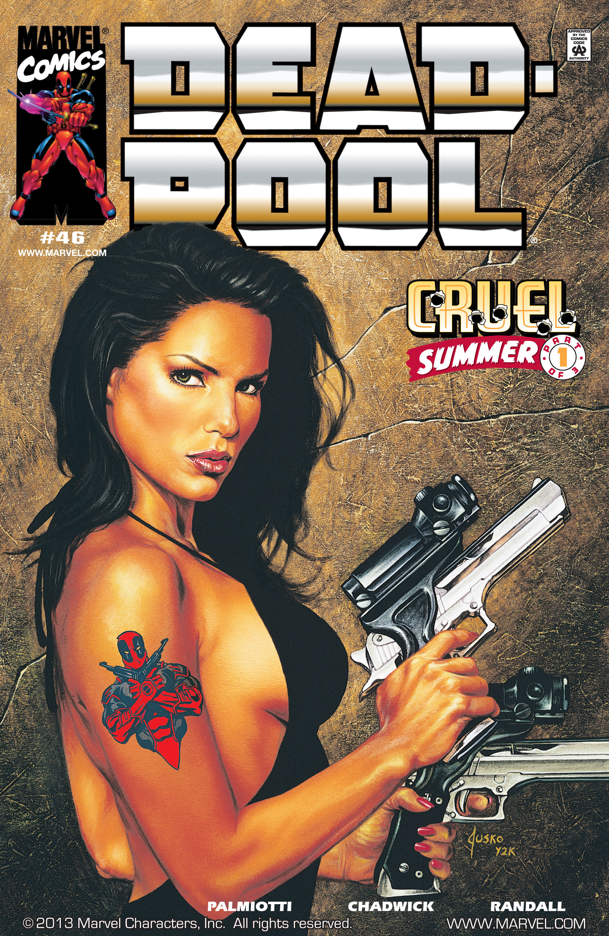 Deadpool (1997) 46 Page 1