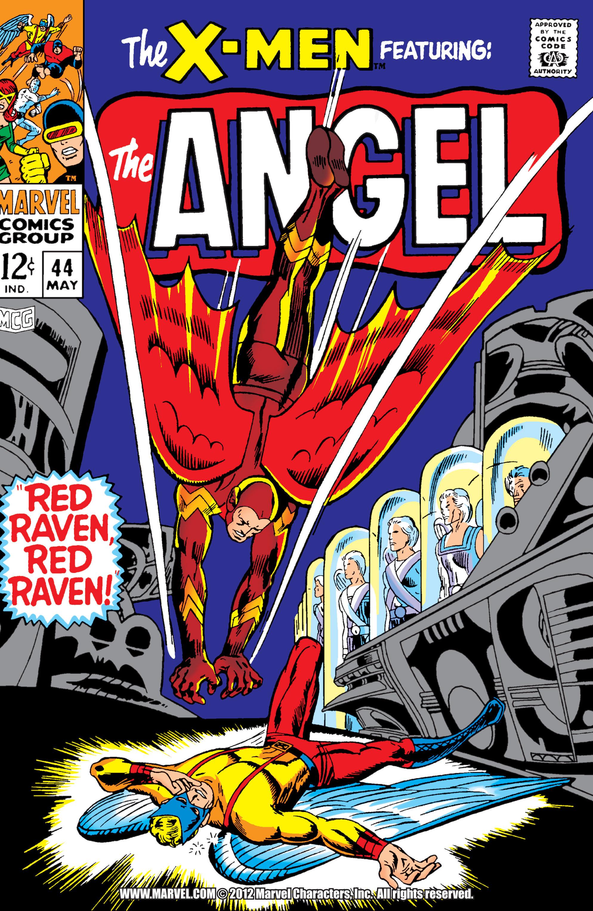 Read online Uncanny X-Men (1963) comic -  Issue #44 - 1