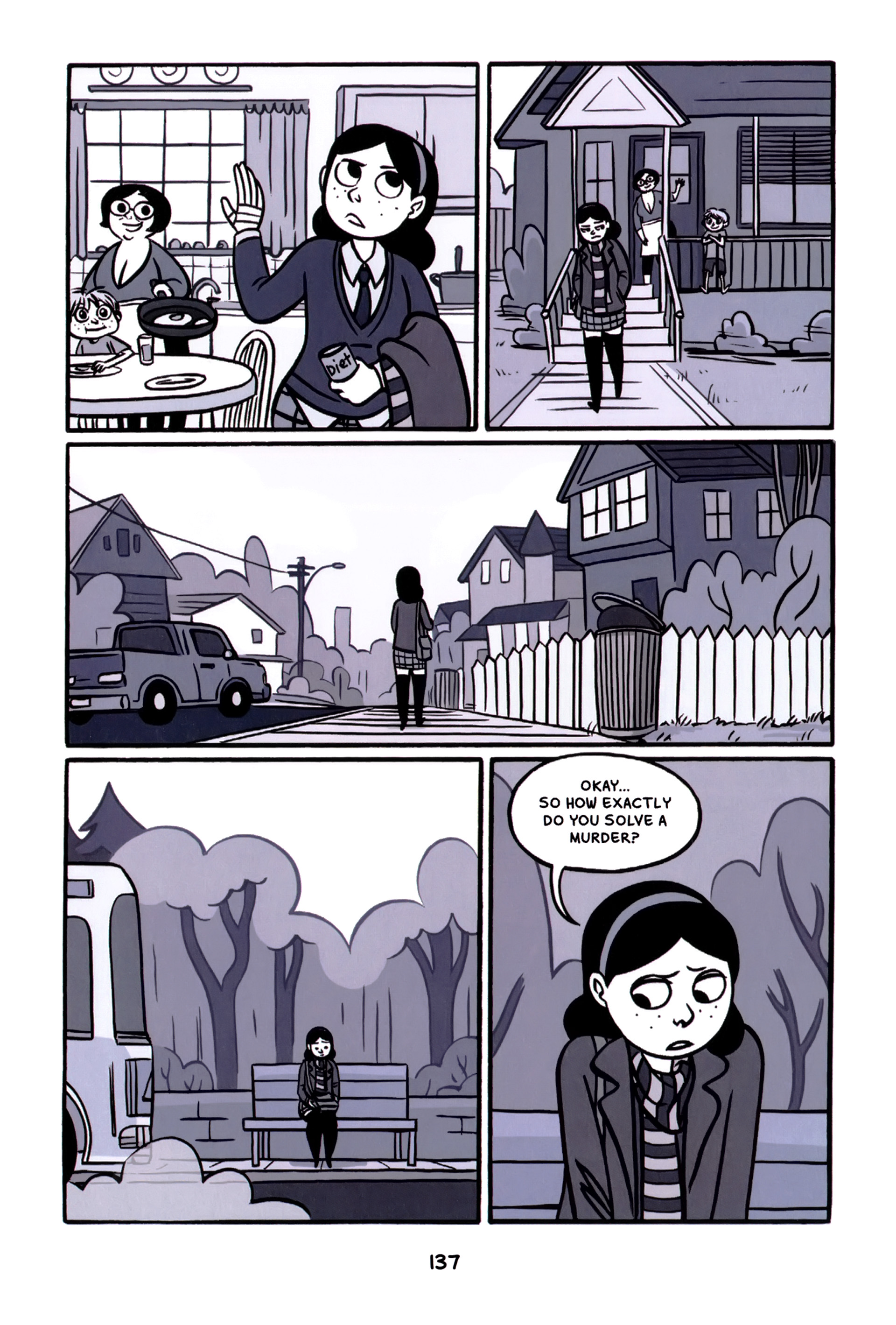 Read online Anya's Ghost comic -  Issue #1 - 138