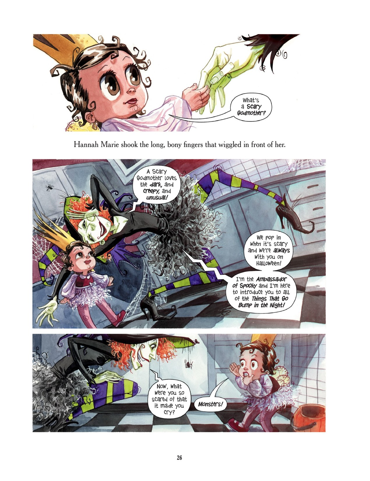 Read online Scary Godmother comic -  Issue # TPB - 26