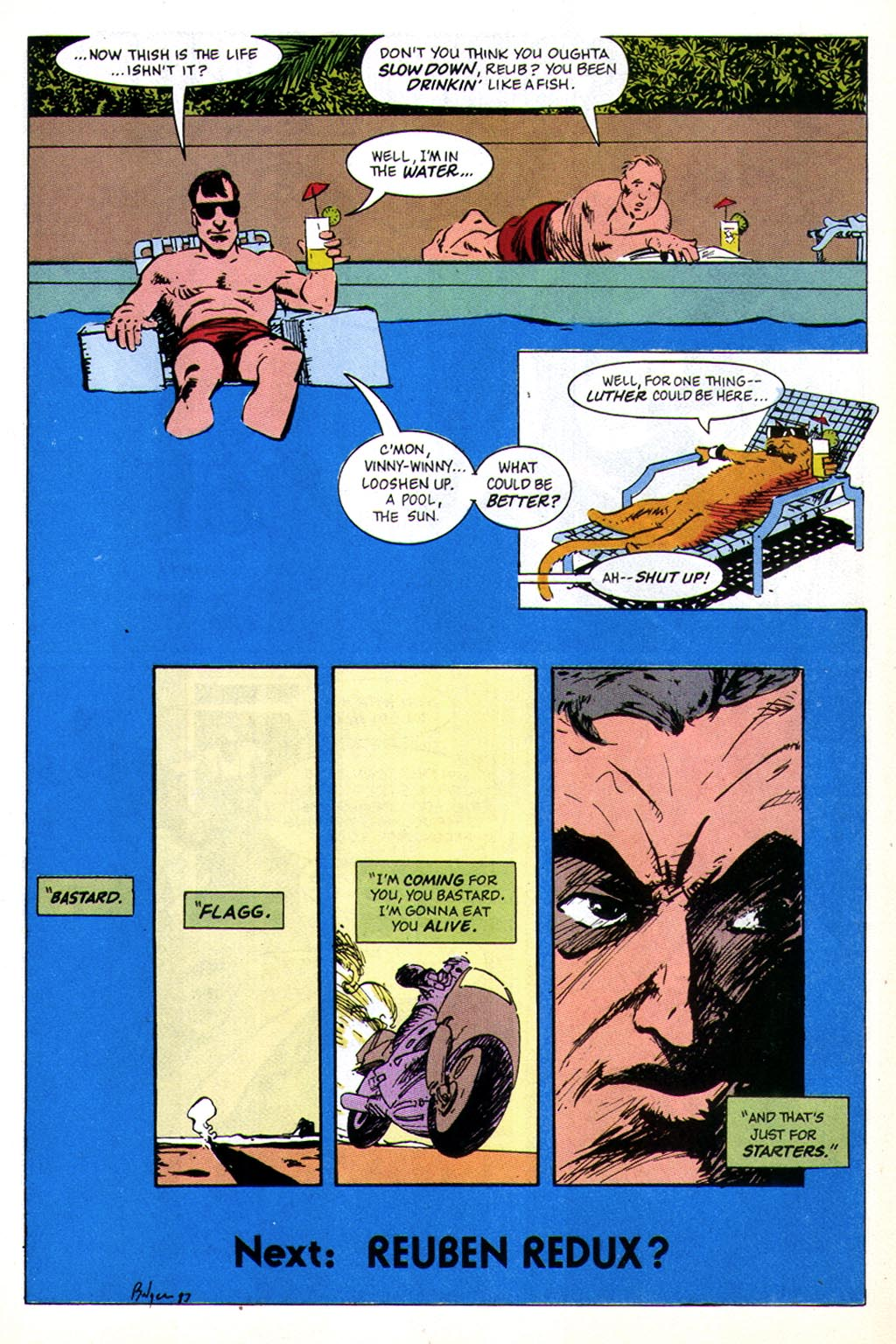 Read online American Flagg! comic -  Issue #43 - 32