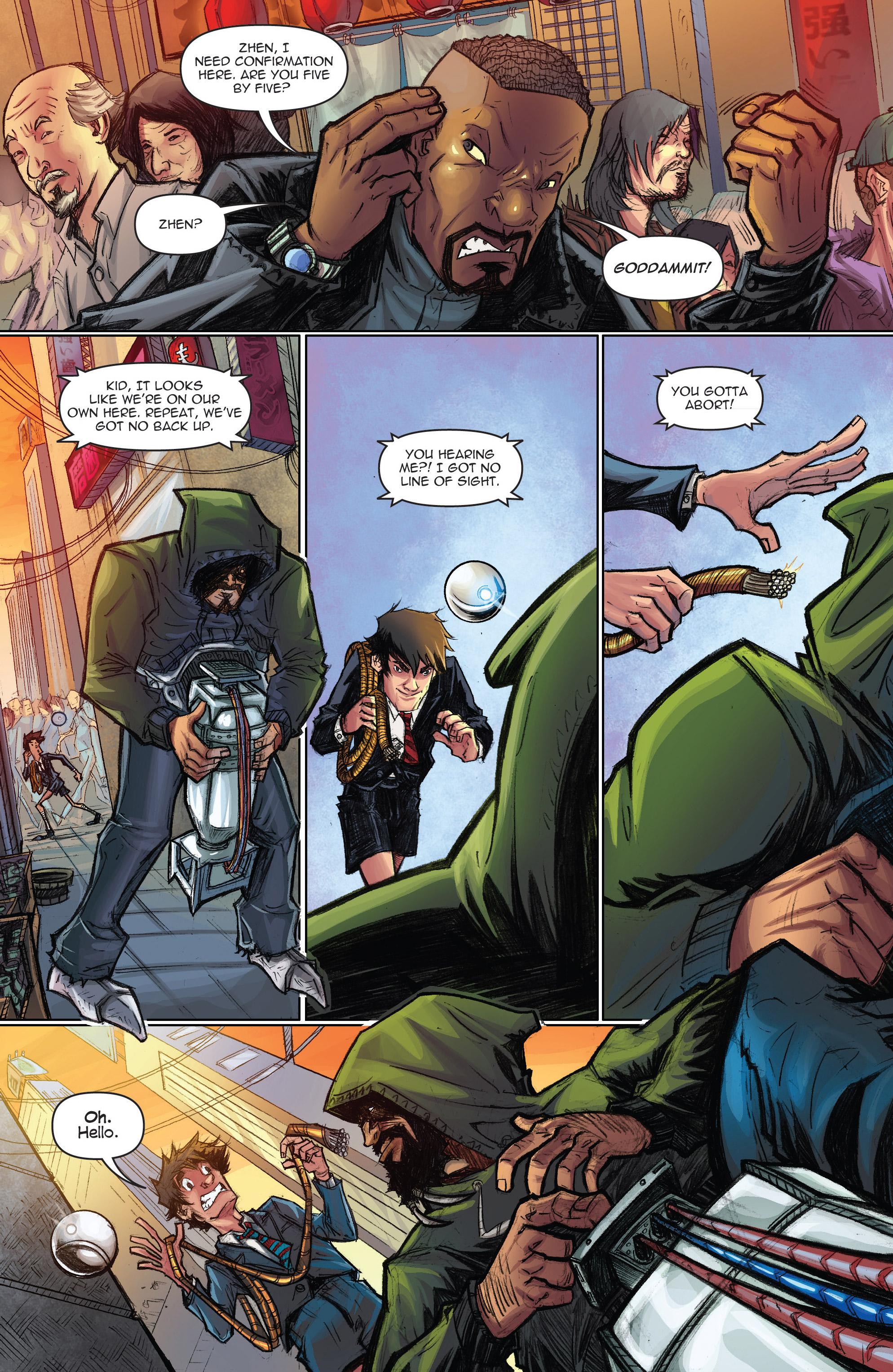 Read online Infinite Seven comic -  Issue #3 - 18