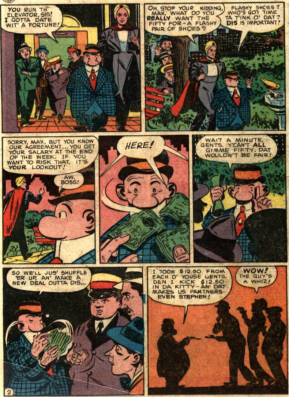 Read online Sensation (Mystery) Comics comic -  Issue #58 - 25