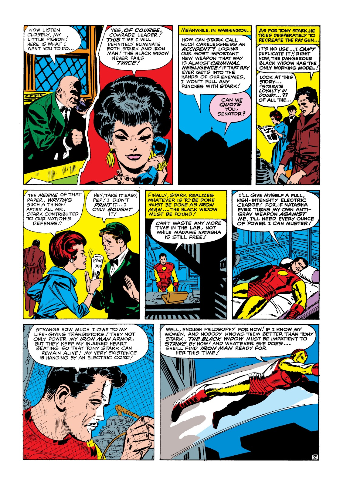 Read online Marvel Masterworks: The Invincible Iron Man comic -  Issue # TPB 2 (Part 1) - 38