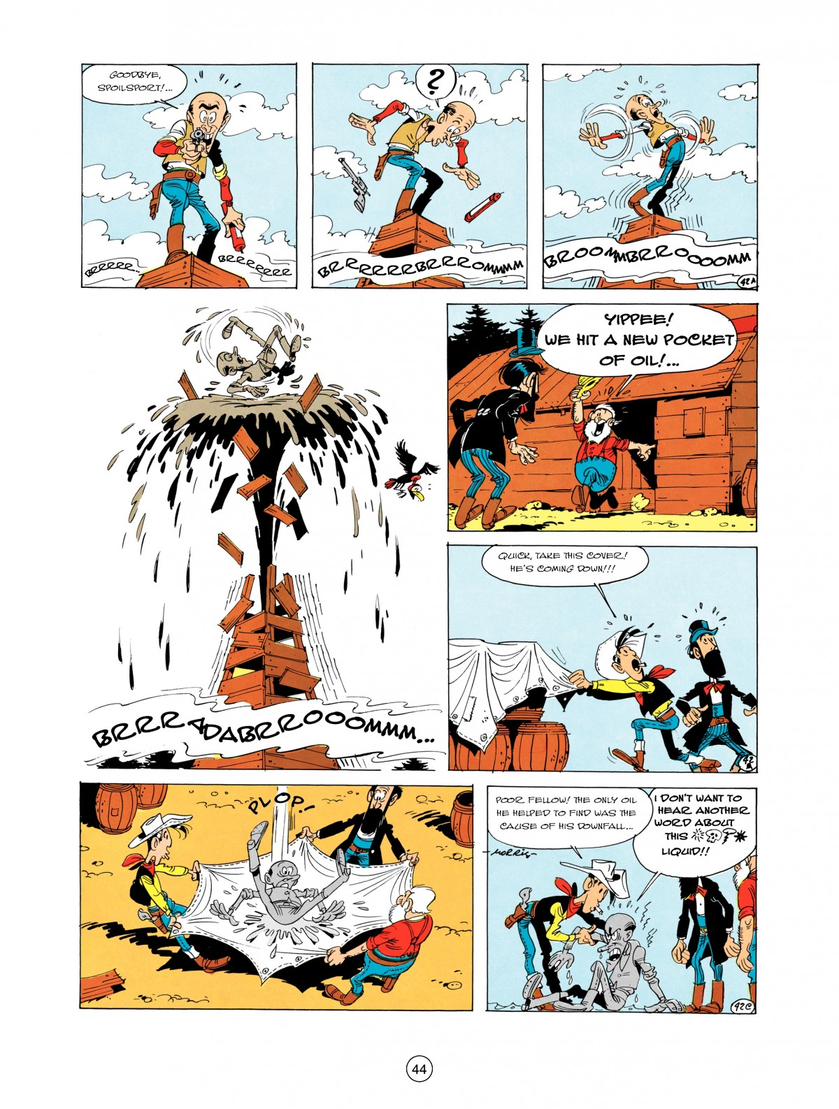 A Lucky Luke Adventure 5 Page 45