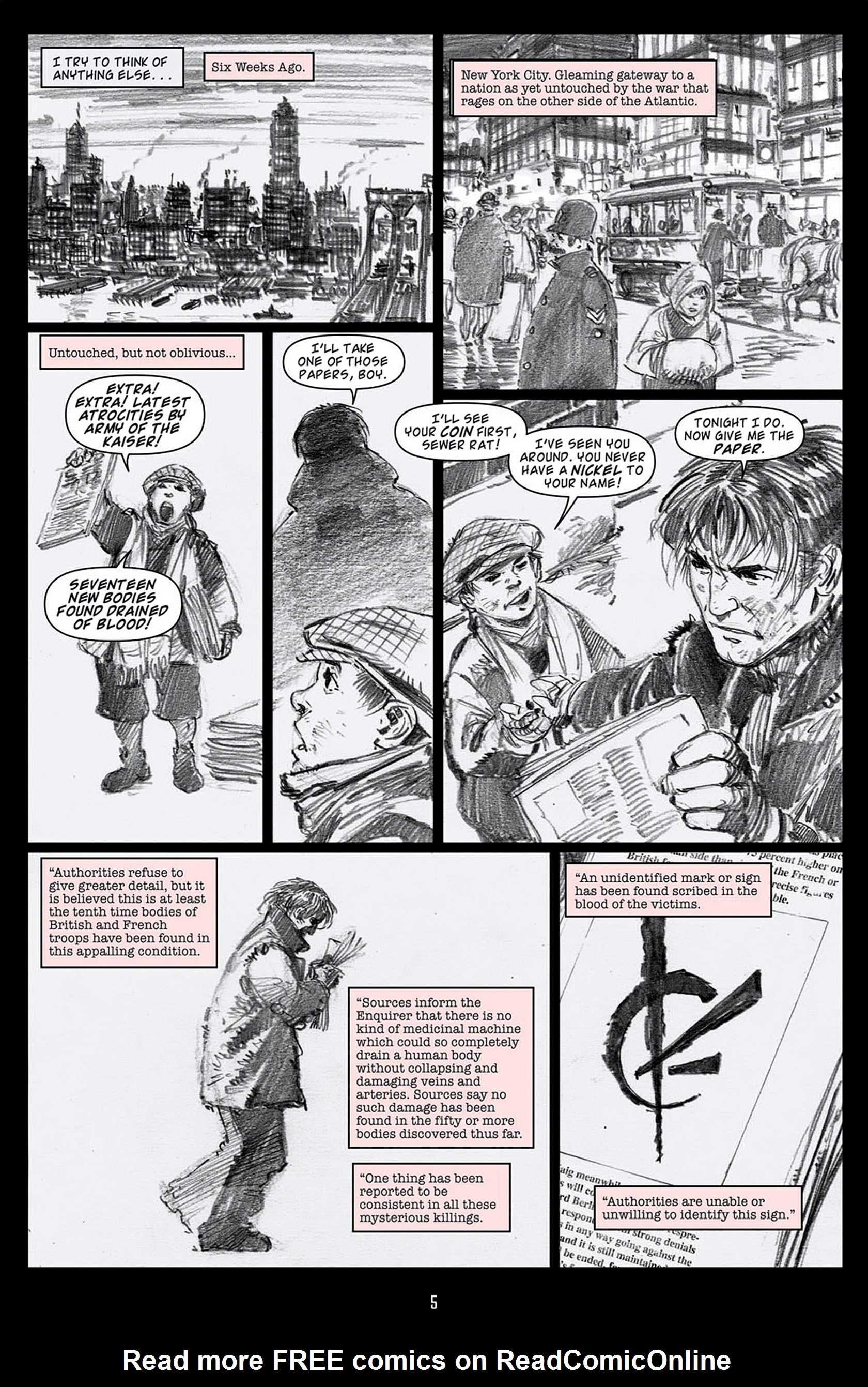 Read online Angel: Blood & Trenches comic -  Issue #1 - 8