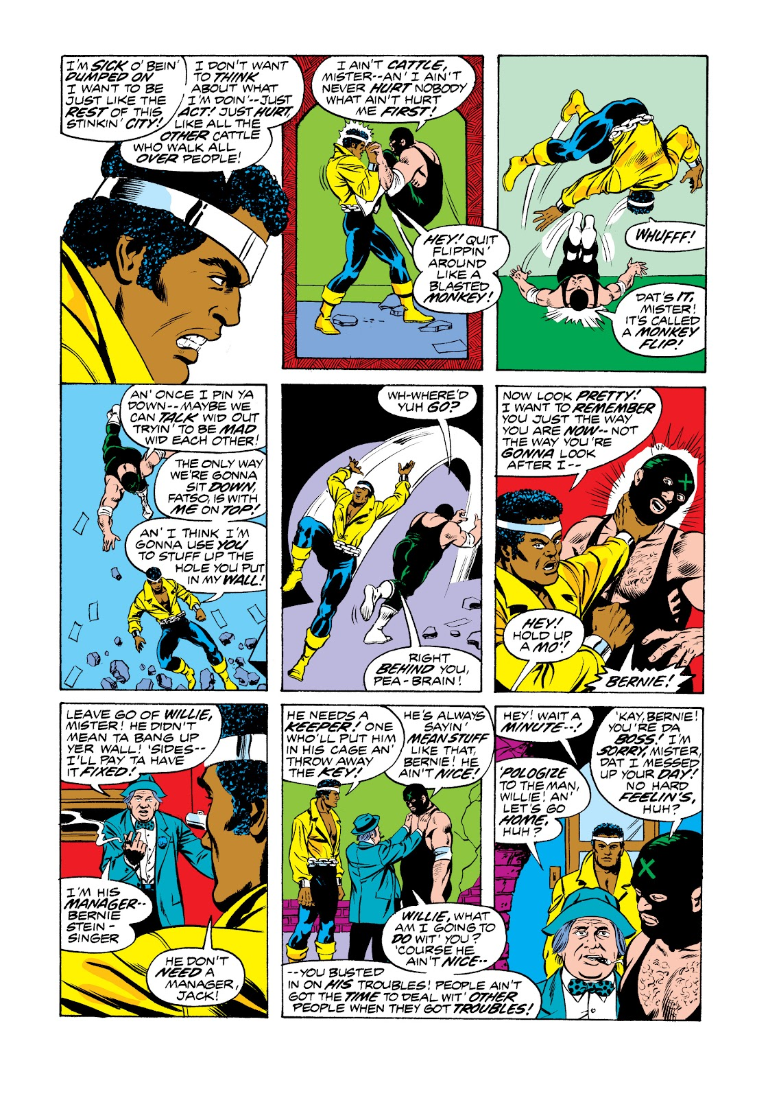 Read online Marvel Masterworks: Luke Cage, Power Man comic -  Issue # TPB 2 (Part 3) - 5