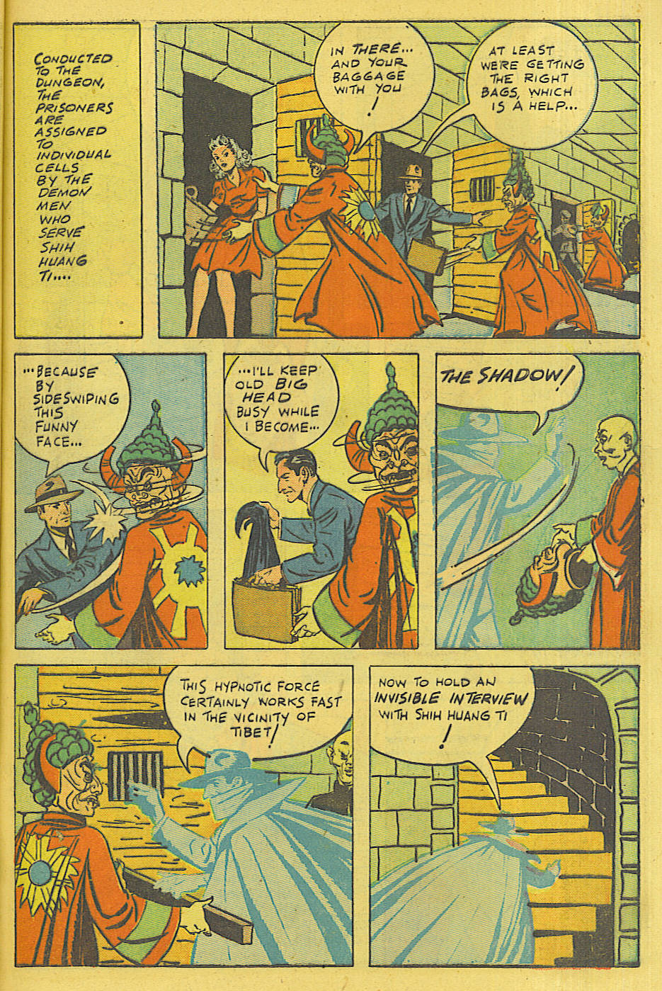Read online Shadow Comics comic -  Issue #71 - 48