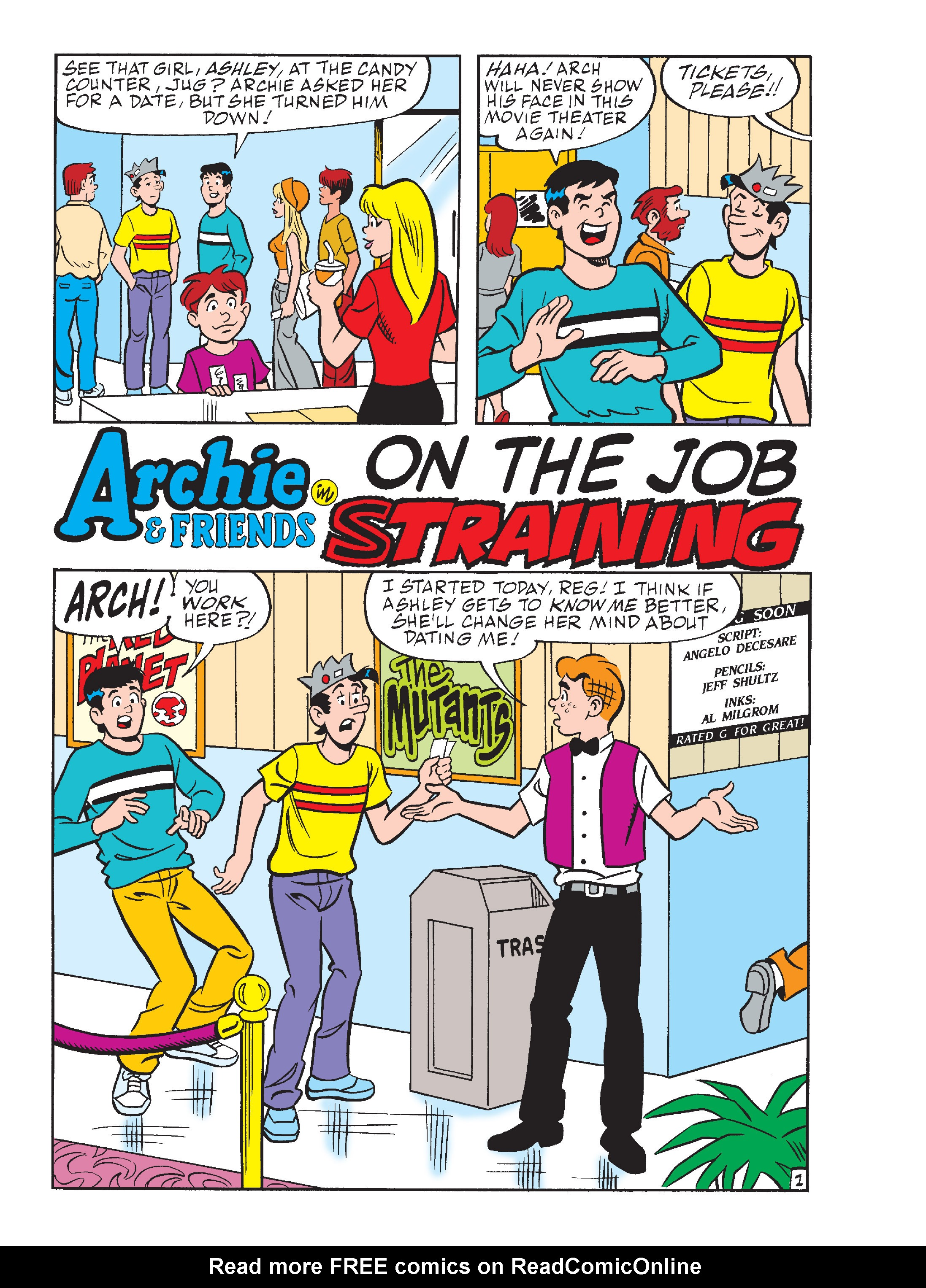 Read online Archie's Funhouse Double Digest comic -  Issue #15 - 260