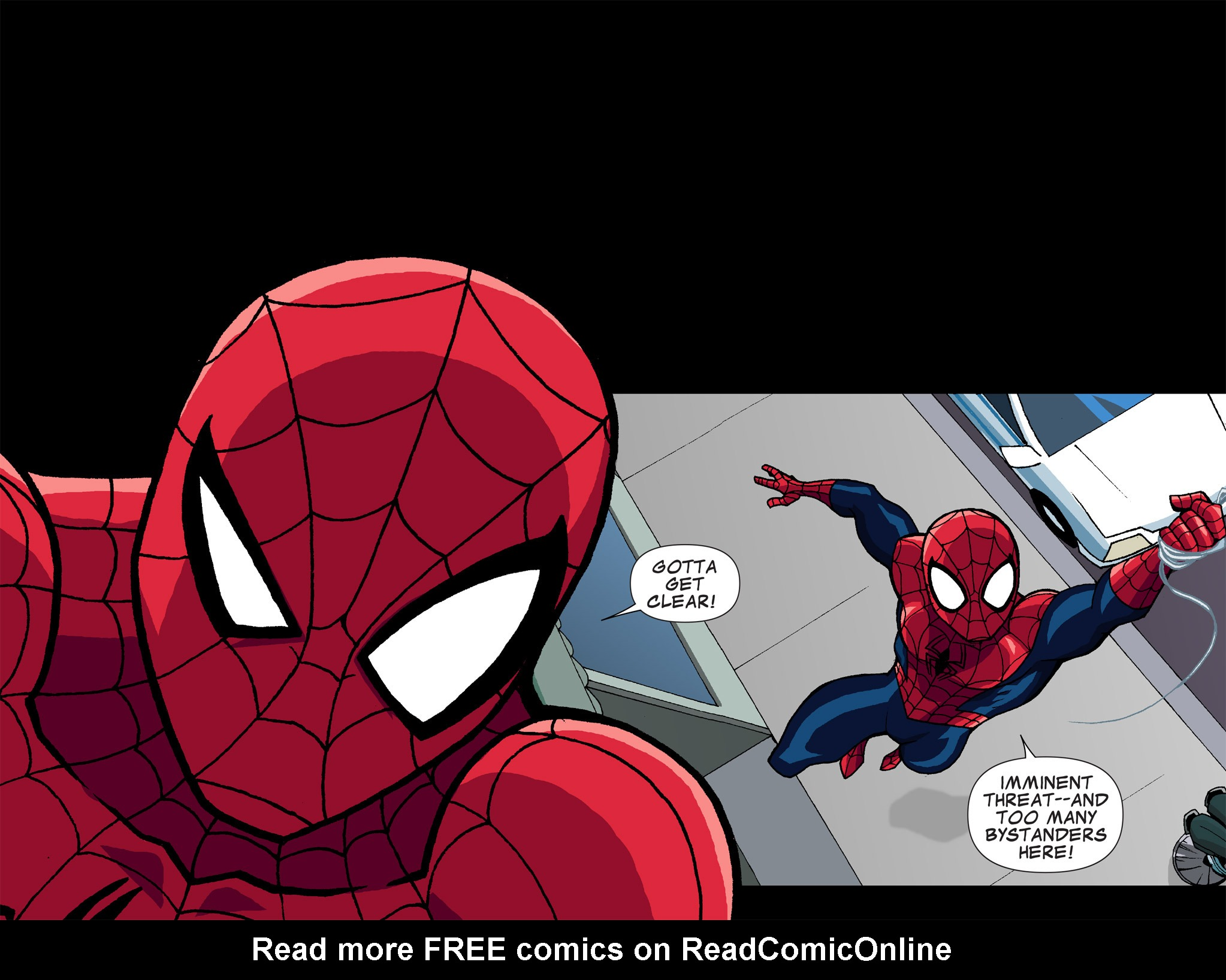 Read online Ultimate Spider-Man (Infinite Comics) (2015) comic -  Issue #1 - 23