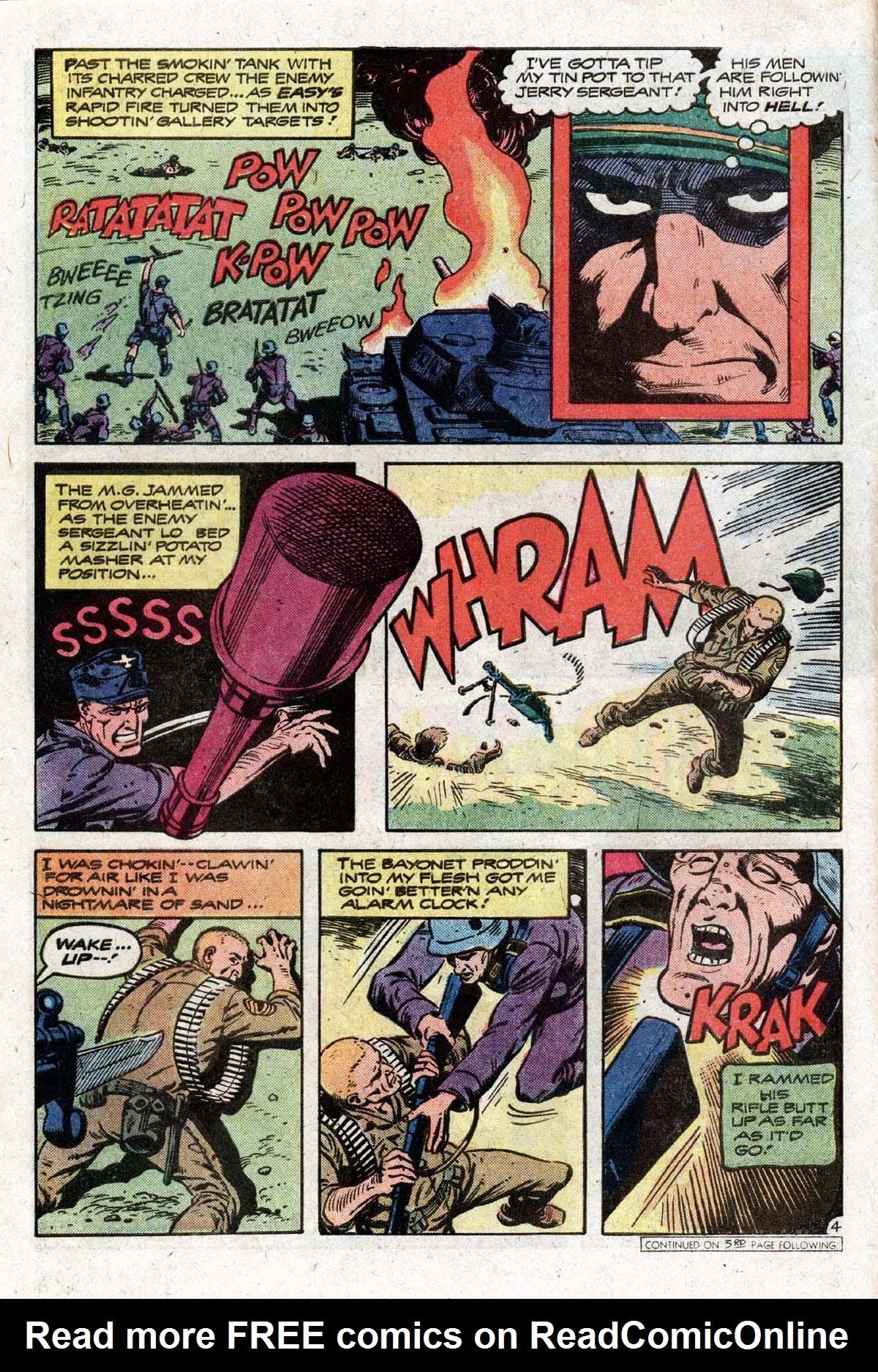 Read online Sgt. Rock comic -  Issue #319 - 7