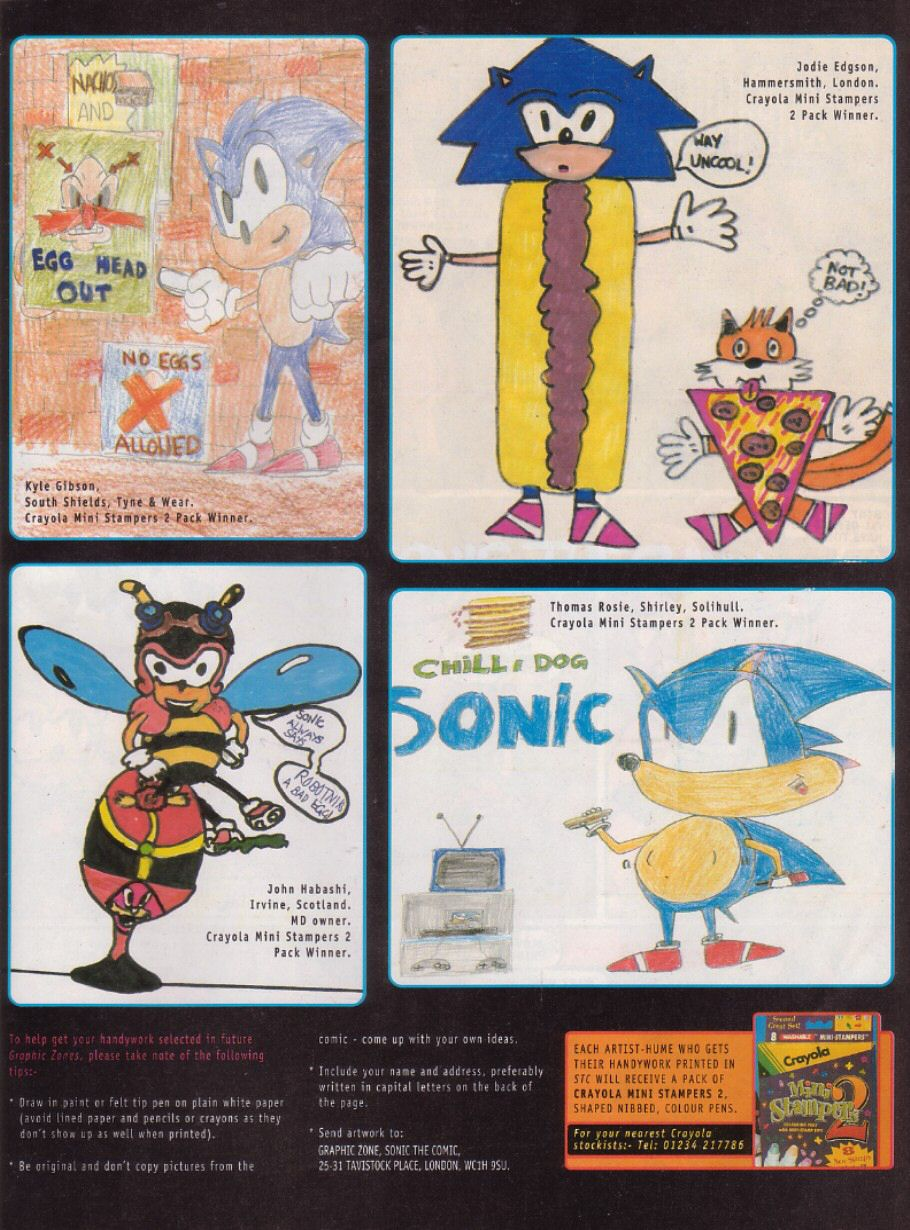Read online Sonic the Comic comic -  Issue #112 - 22
