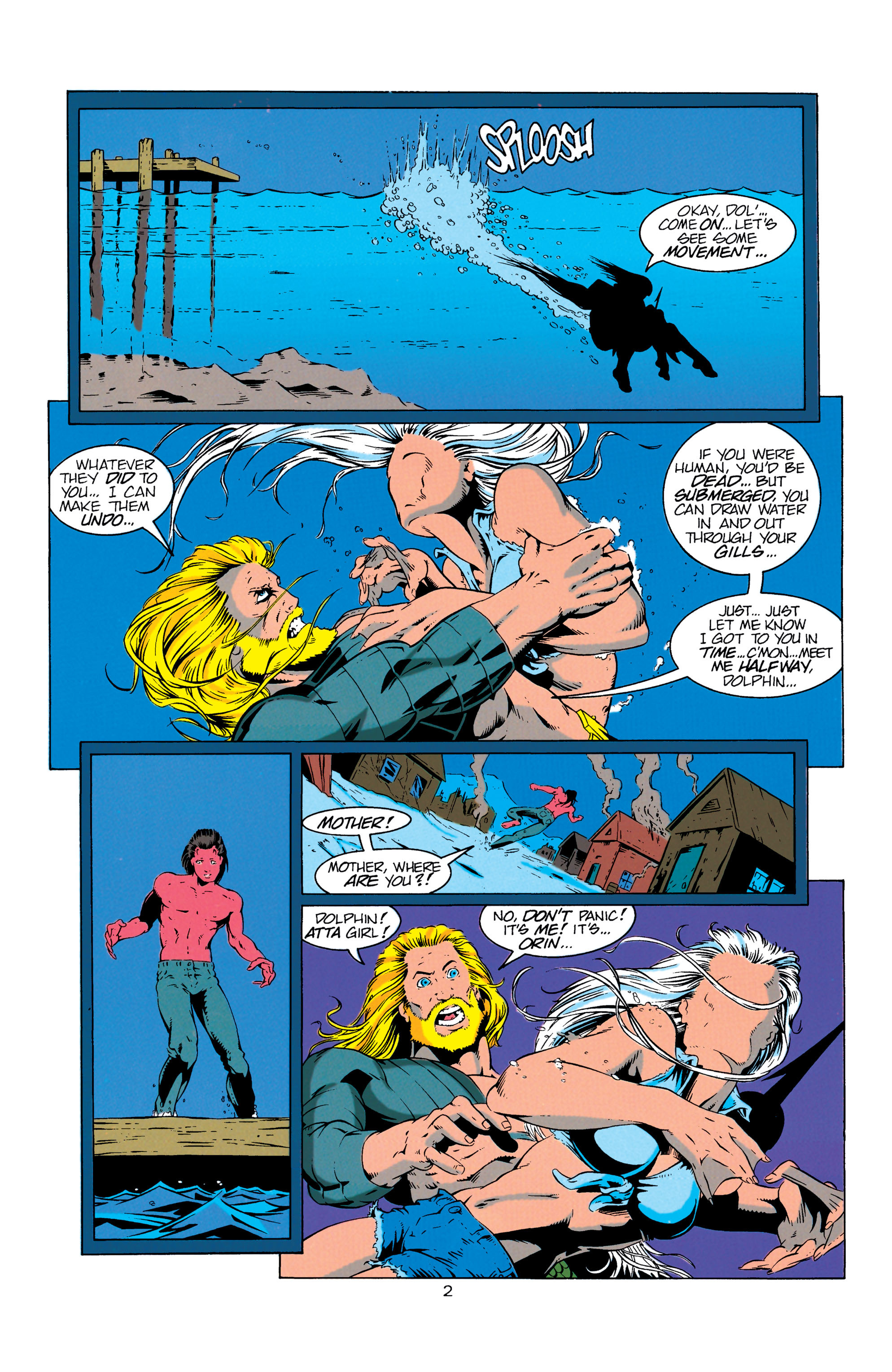 Read online Aquaman (1994) comic -  Issue #7 - 3