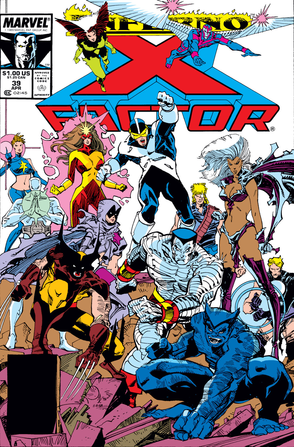 Read online X-Factor (1986) comic -  Issue #39 - 1