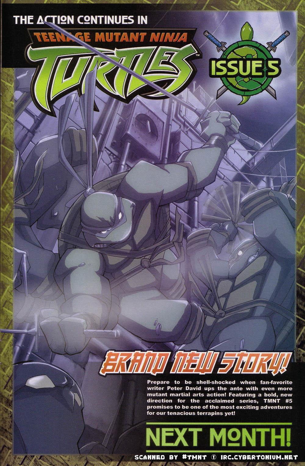 Teenage Mutant Ninja Turtles (2003) issue 4 - Page 25