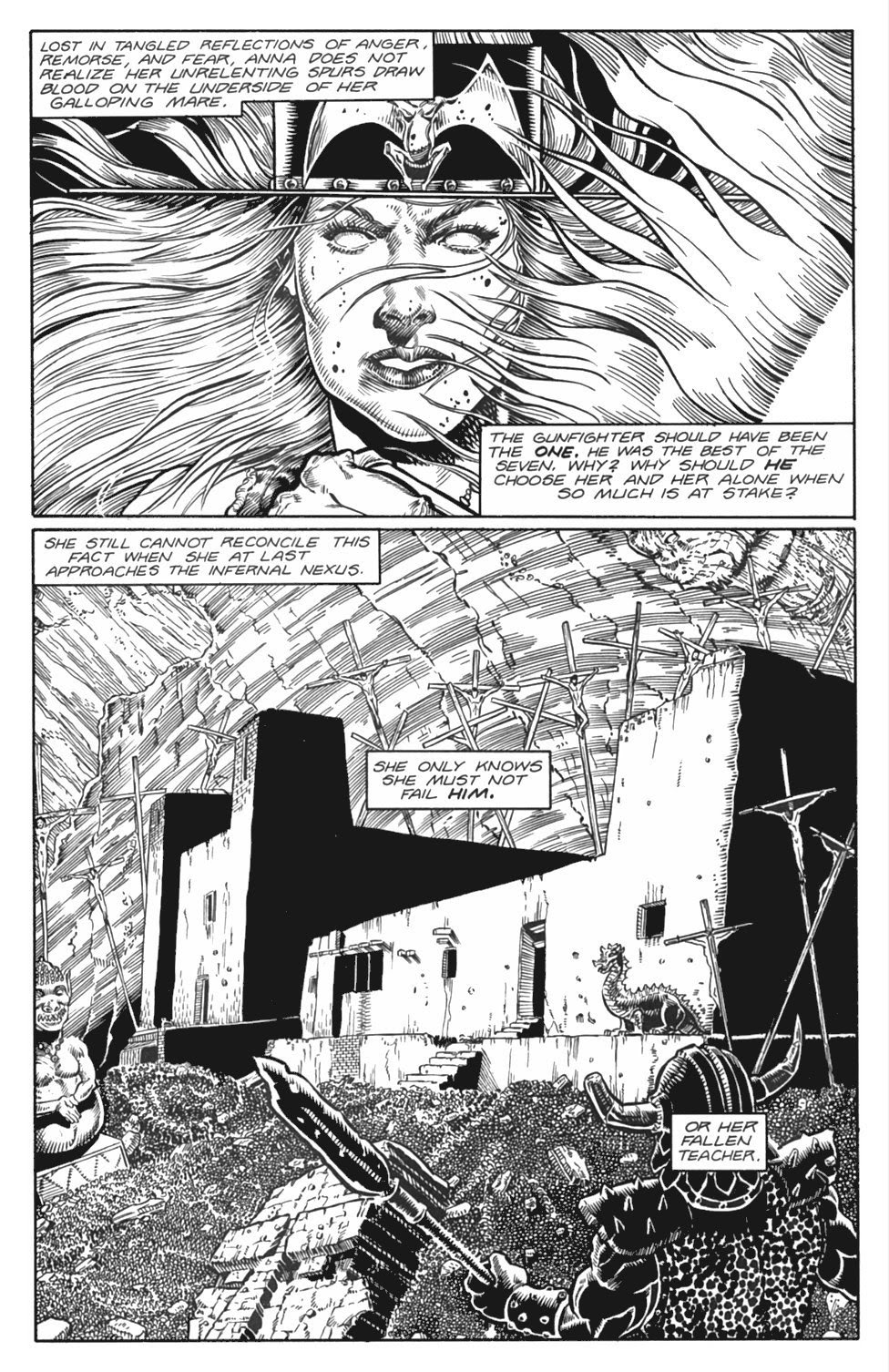 Read online Gunfighters in Hell comic -  Issue #4 - 17