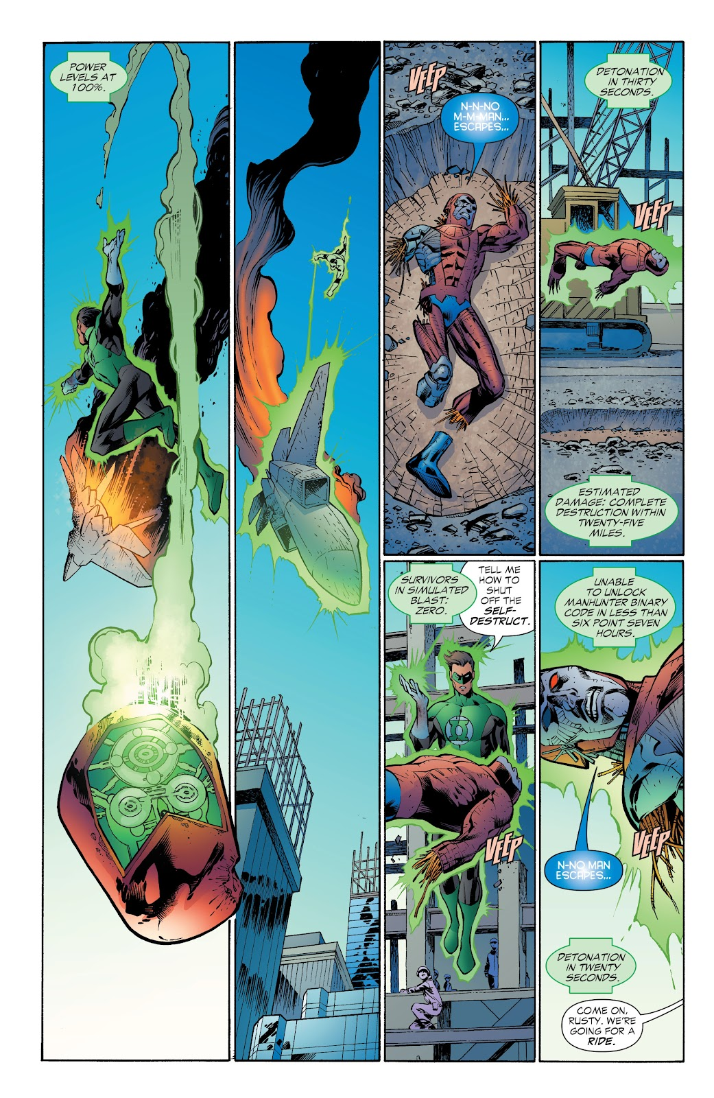 Read online Green Lantern by Geoff Johns comic -  Issue # TPB 1 (Part 4) - 61