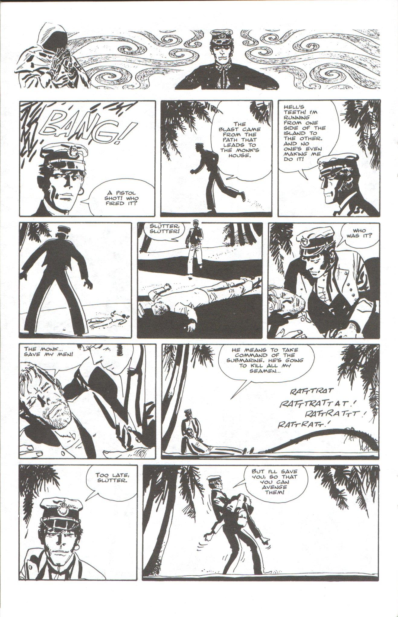 Read online Corto Maltese: Ballad of the Salt Sea comic -  Issue #6 - 20