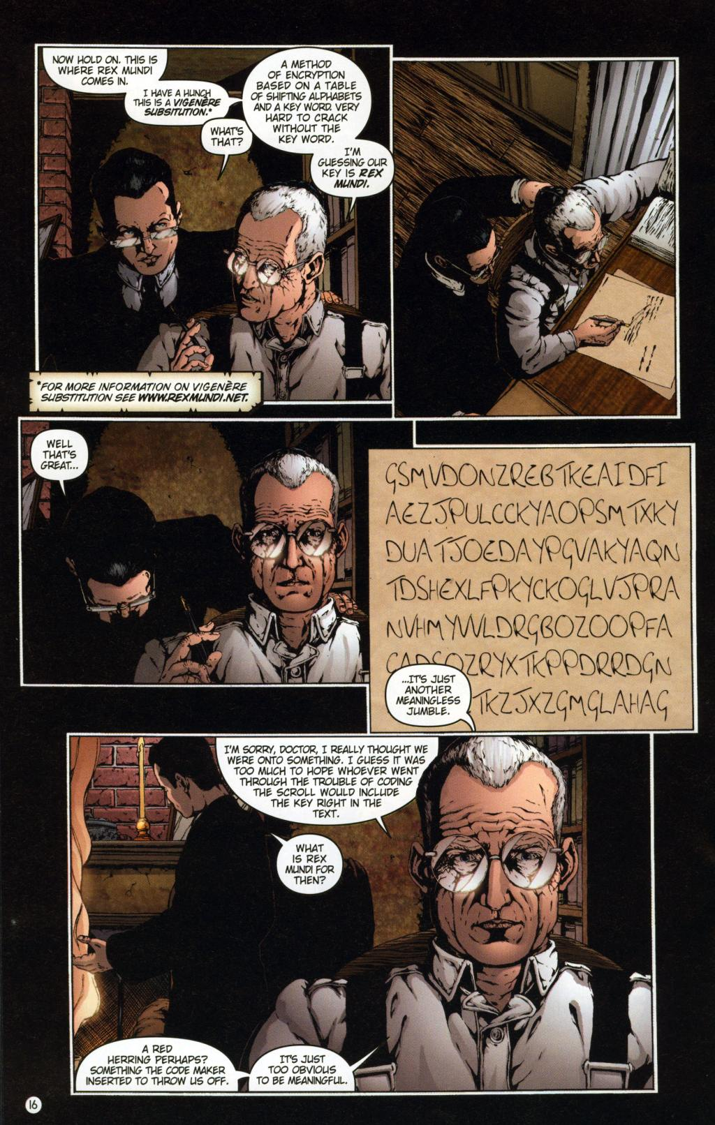 Read online Rex Mundi comic -  Issue #7 - 20