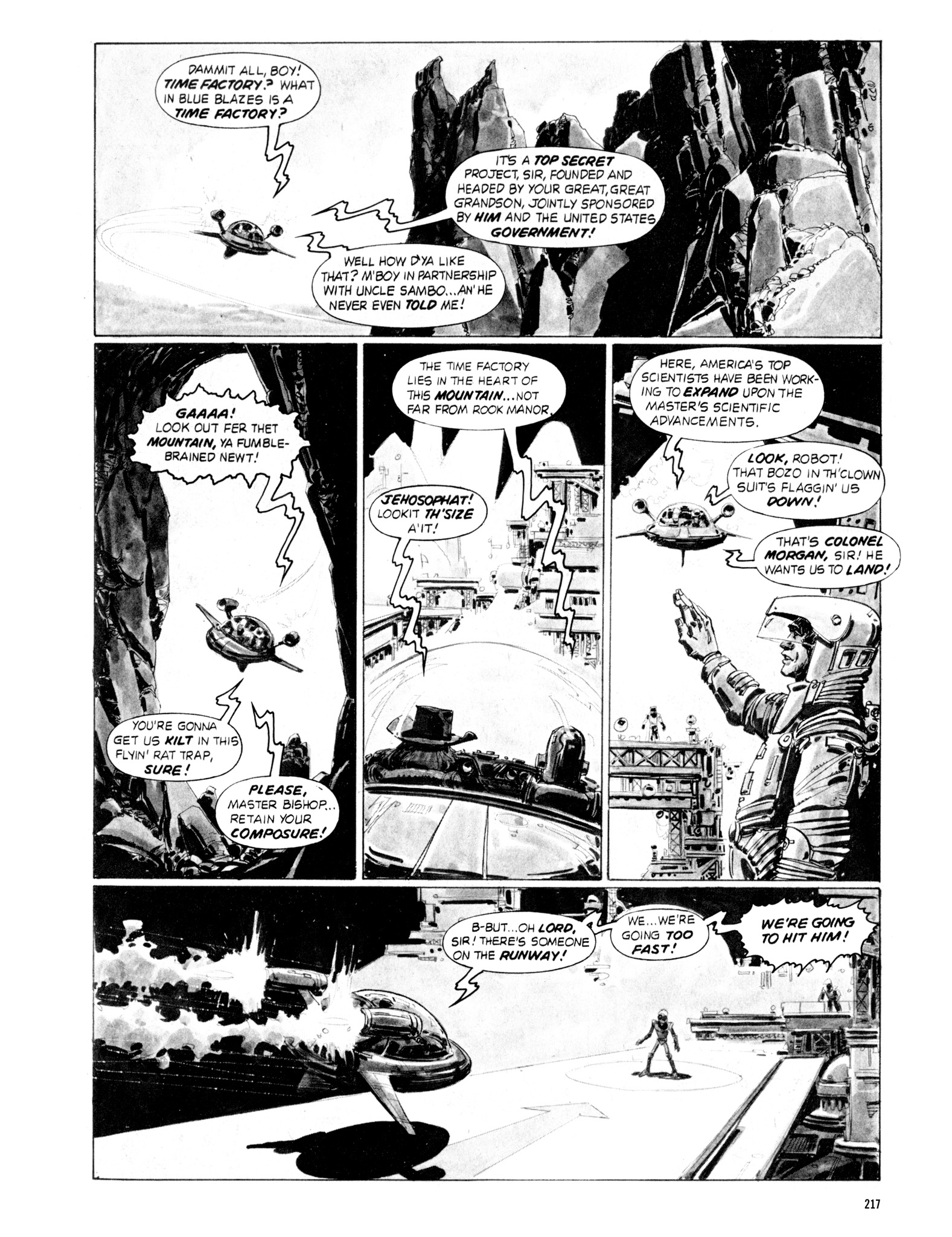 Read online Eerie Archives comic -  Issue # TPB 18 - 214