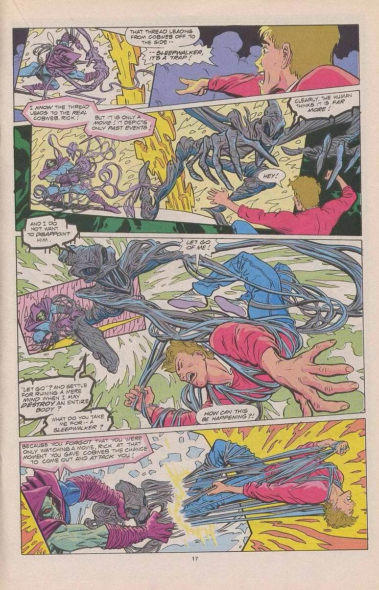Read online Sleepwalker comic -  Issue #3 - 14