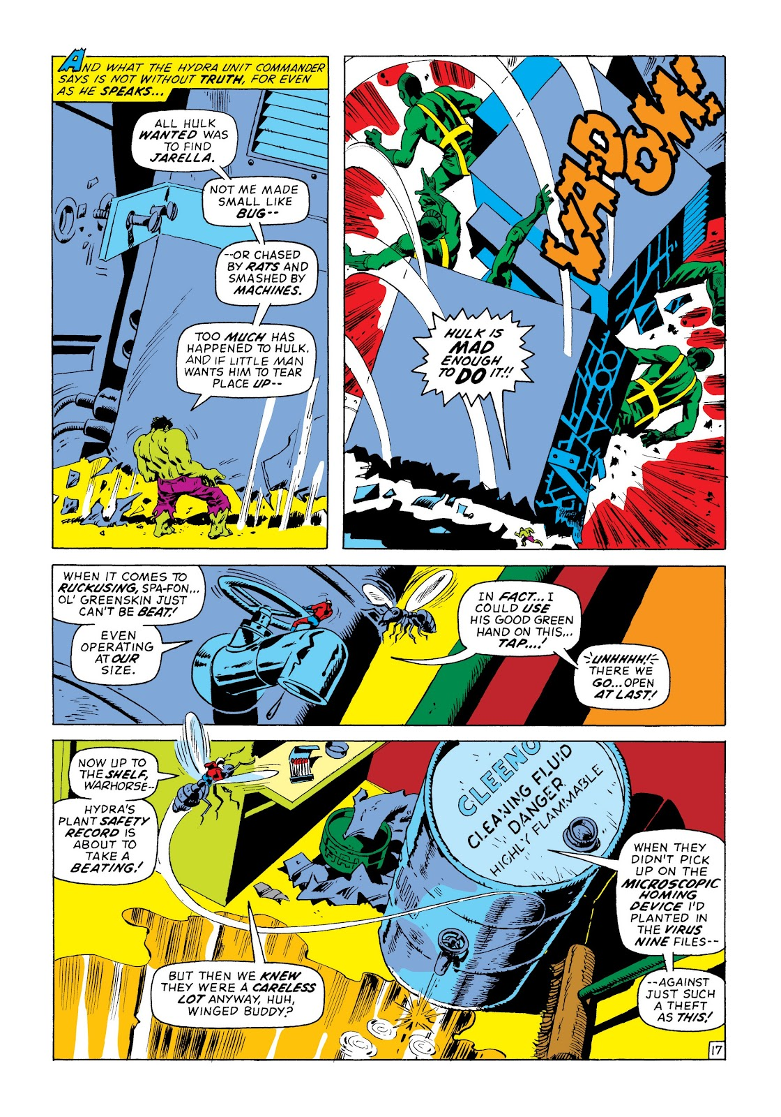 Read online Marvel Masterworks: The Incredible Hulk comic -  Issue # TPB 8 (Part 3) - 35