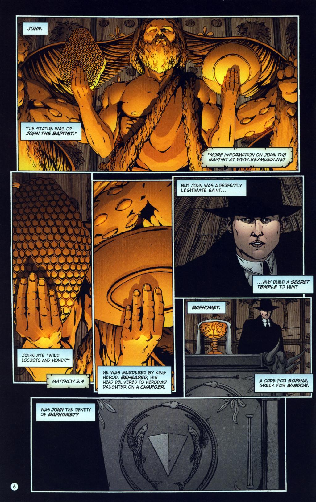 Read online Rex Mundi comic -  Issue #8 - 10