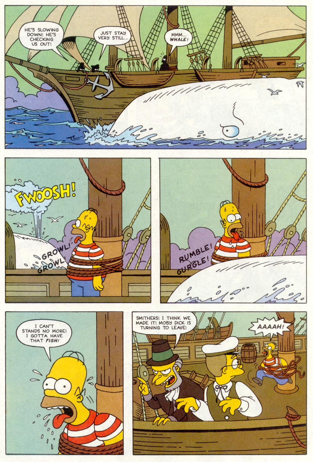 Read online Treehouse of Horror comic -  Issue #1 - 26