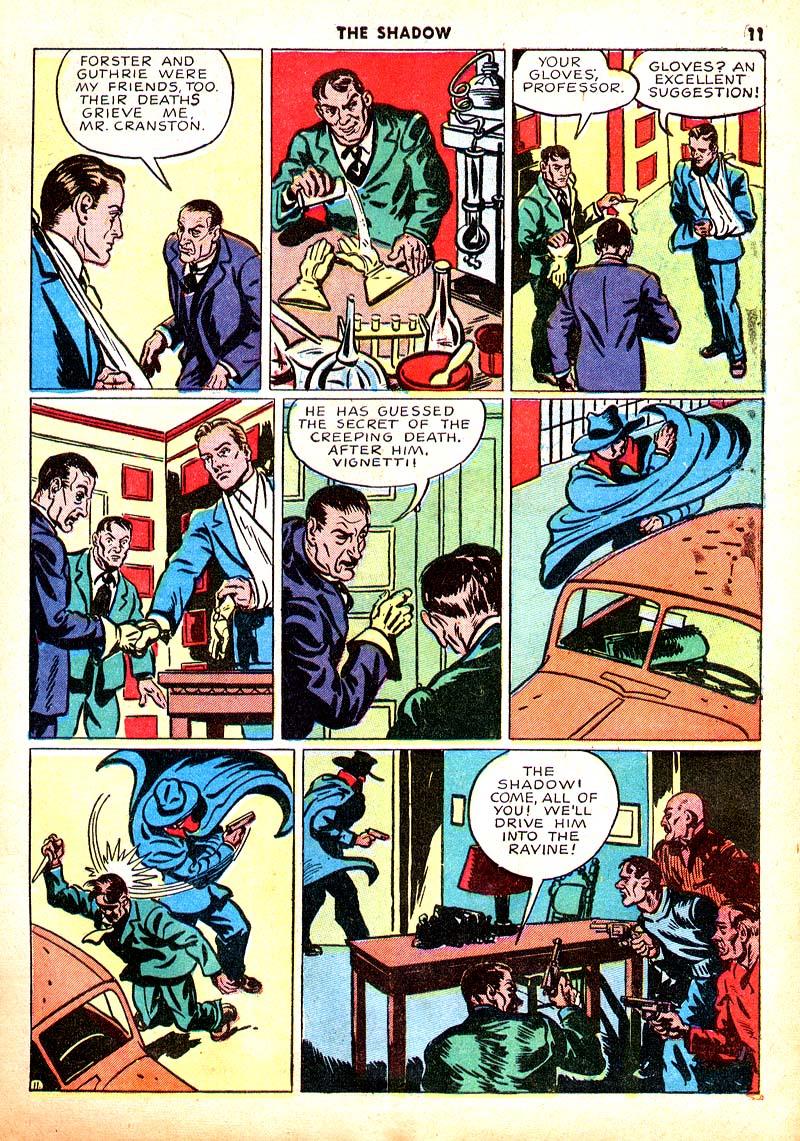 Read online Shadow Comics comic -  Issue #7 - 12