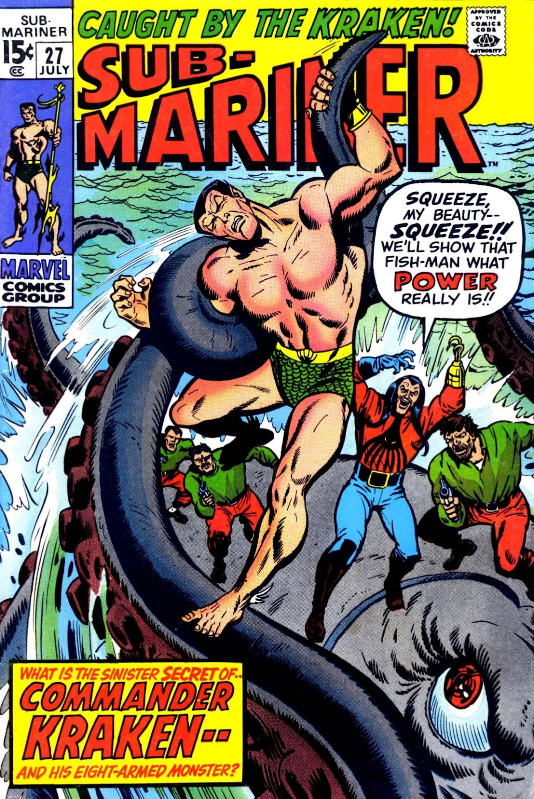 The Sub-Mariner 27 Page 1