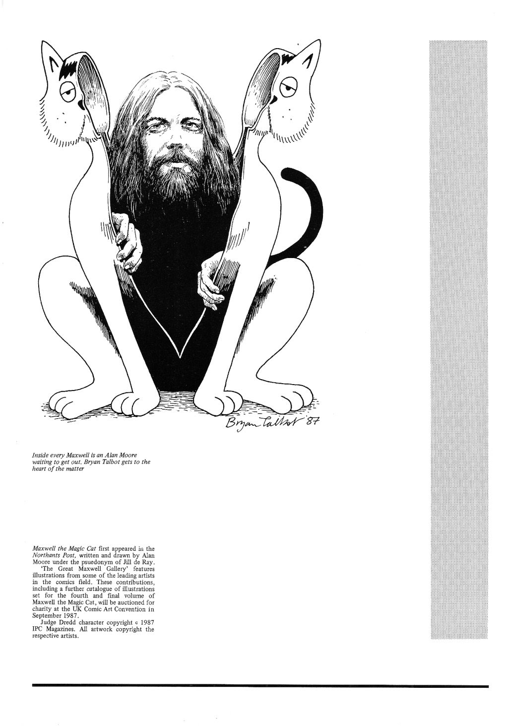 Read online Alan Moore's Maxwell the Magic Cat comic -  Issue #3 - 10