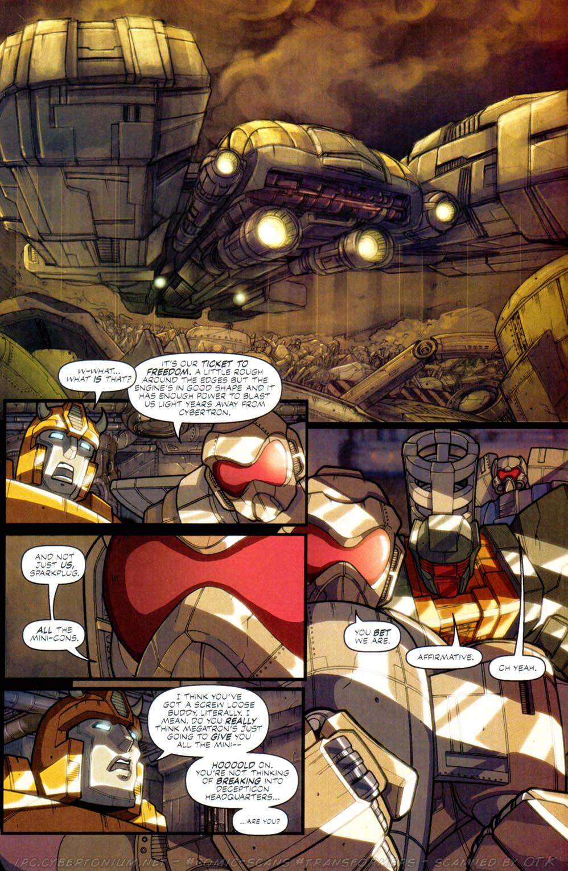Read online Transformers Armada comic -  Issue #2 - 12