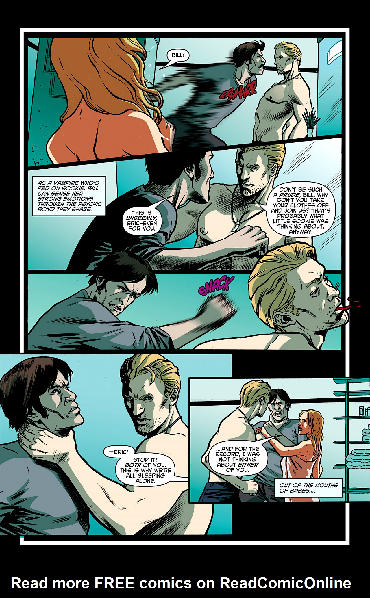 Read online True Blood: French Quarter comic -  Issue #1 - 10