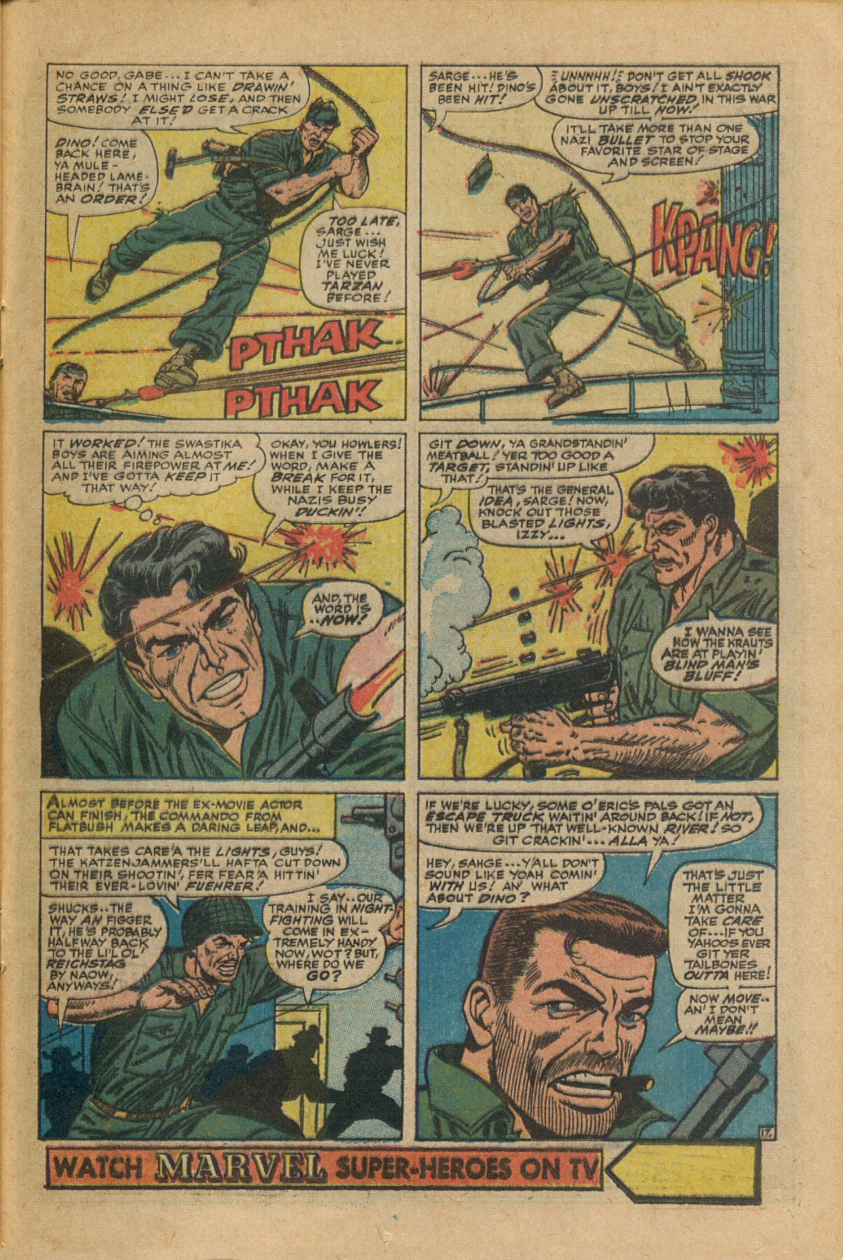 Read online Sgt. Fury comic -  Issue #35 - 25