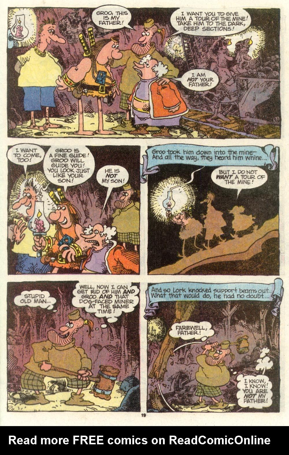 Read online Sergio Aragonés Groo the Wanderer comic -  Issue #77 - 15
