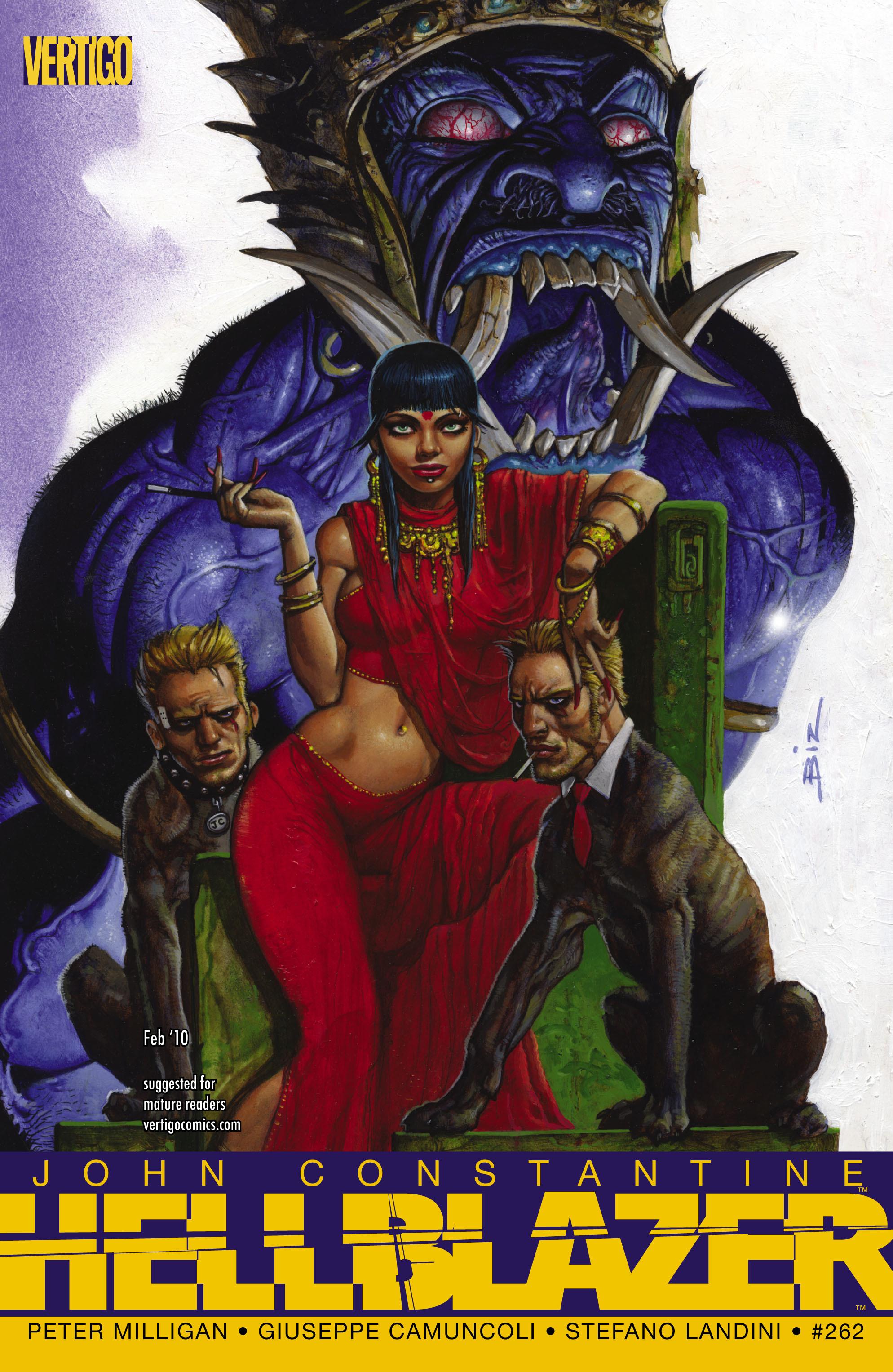 Hellblazer issue 262 - Page 1