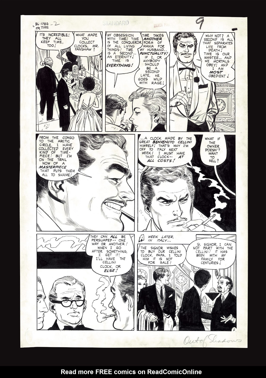 Read online Setting the Standard: Comics by Alex Toth 1952-1954 comic -  Issue # TPB (Part 4) - 130